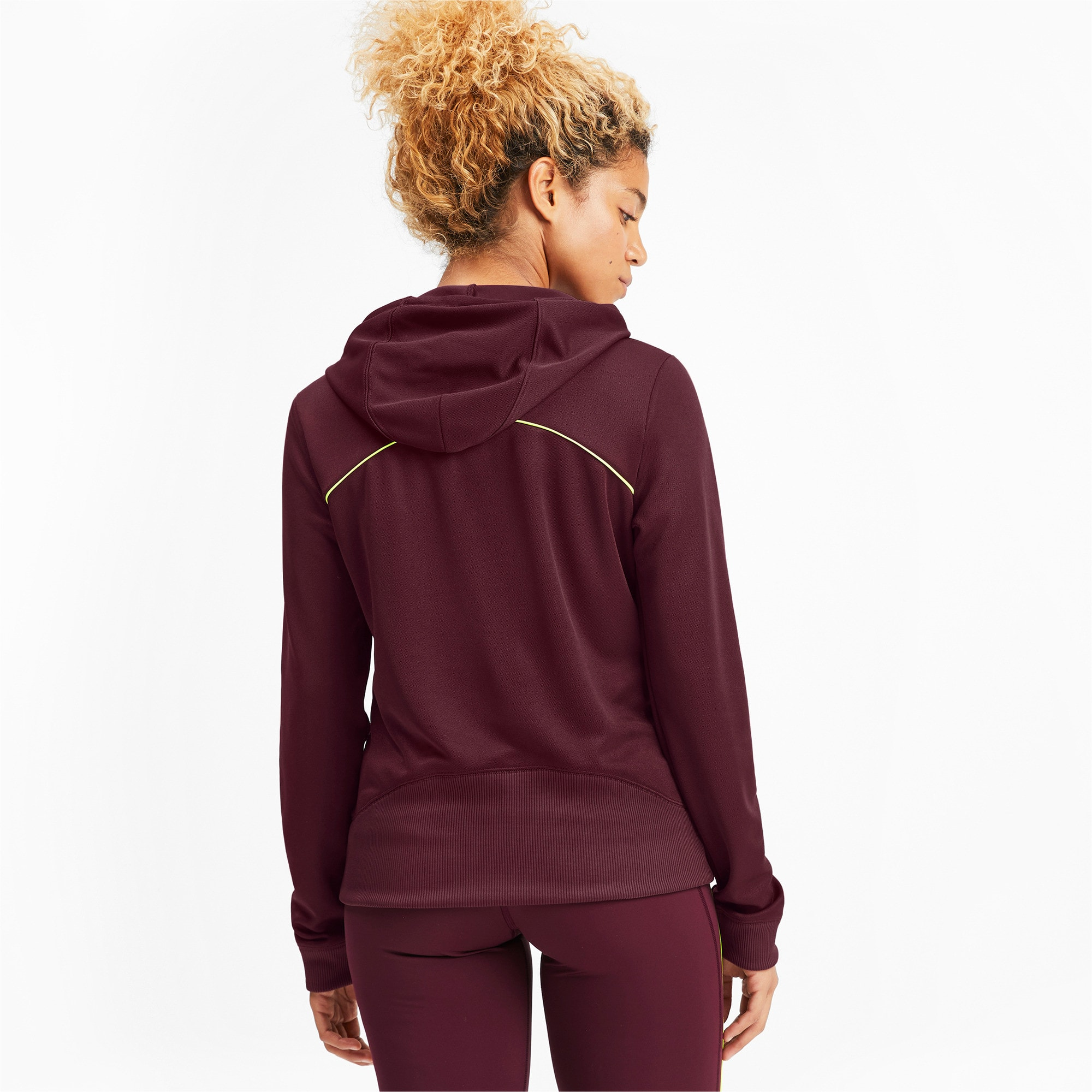 Thumbnail 2 of SHIFT Women's Training Hoodie, Vineyard Wine, medium