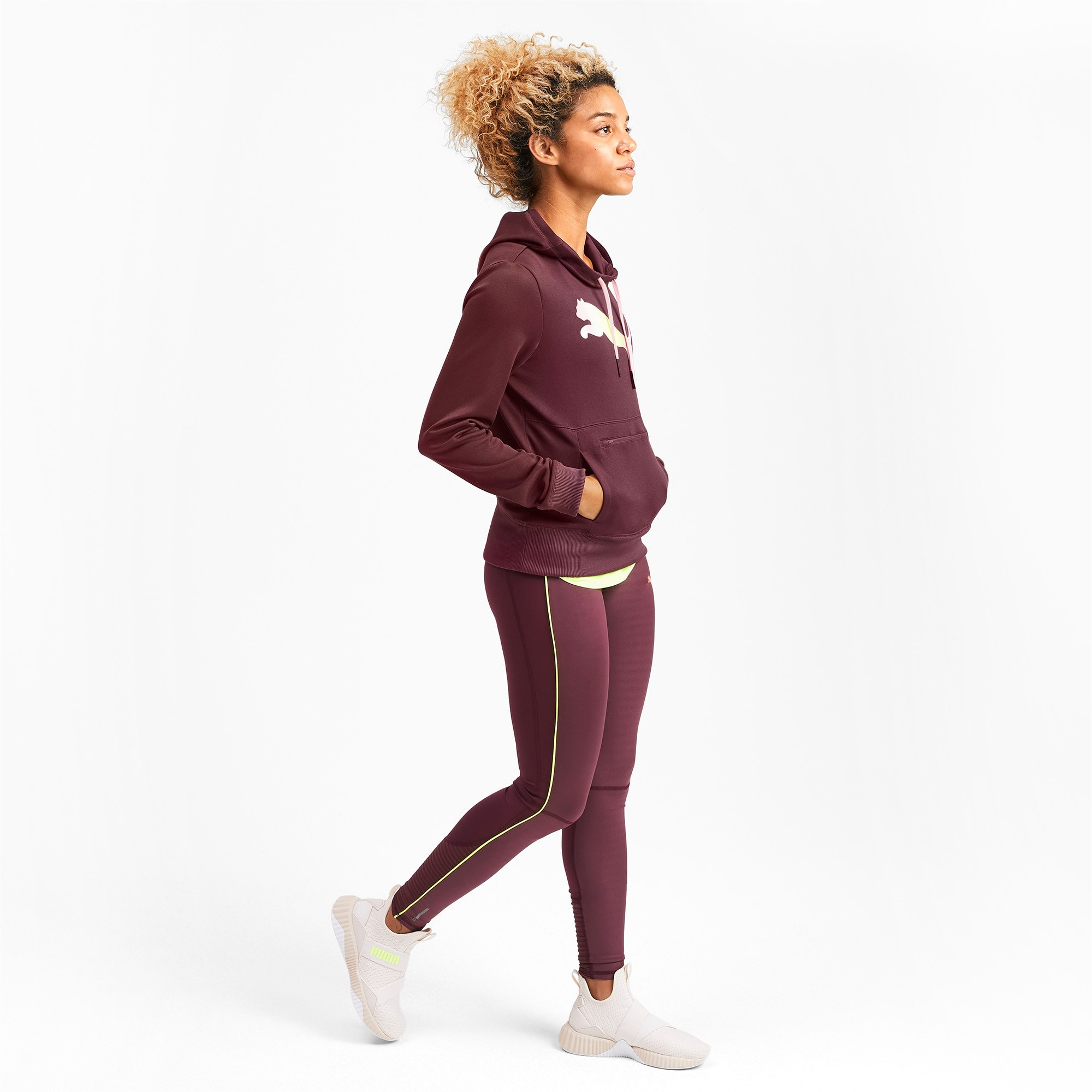 Thumbnail 3 of SHIFT Women's Training Hoodie, Vineyard Wine, medium