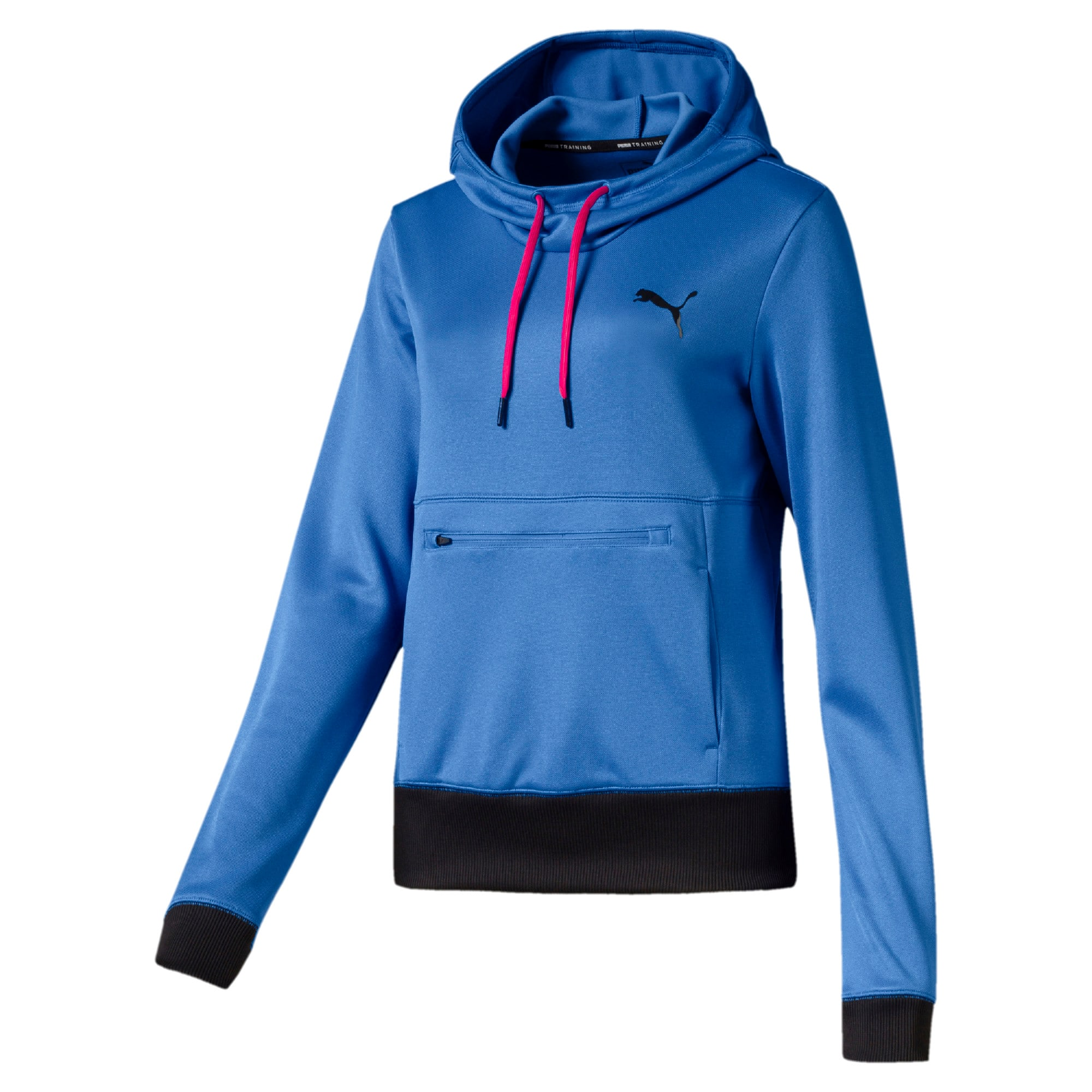 Thumbnail 4 of SHIFT Damen Training Hoodie, Blue Glimmer, medium