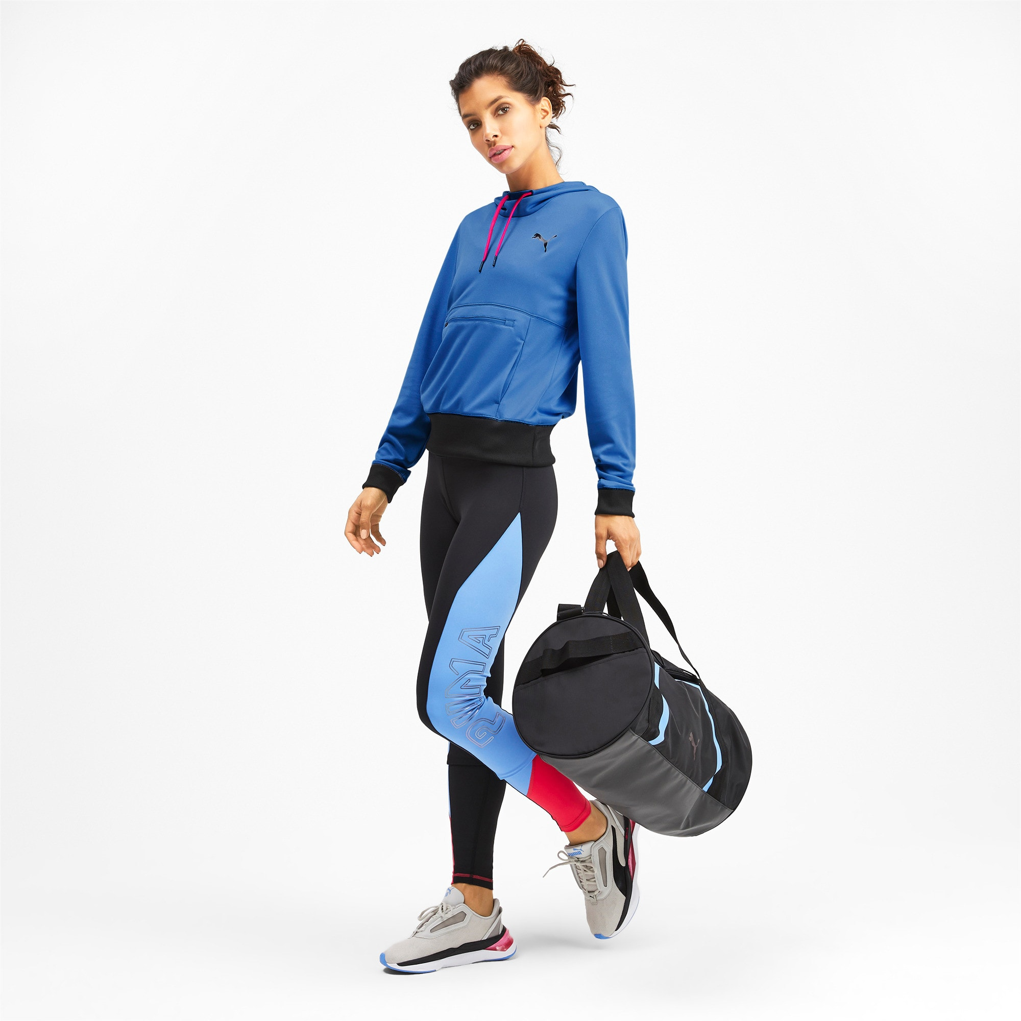 Thumbnail 3 of SHIFT Damen Training Hoodie, Blue Glimmer, medium