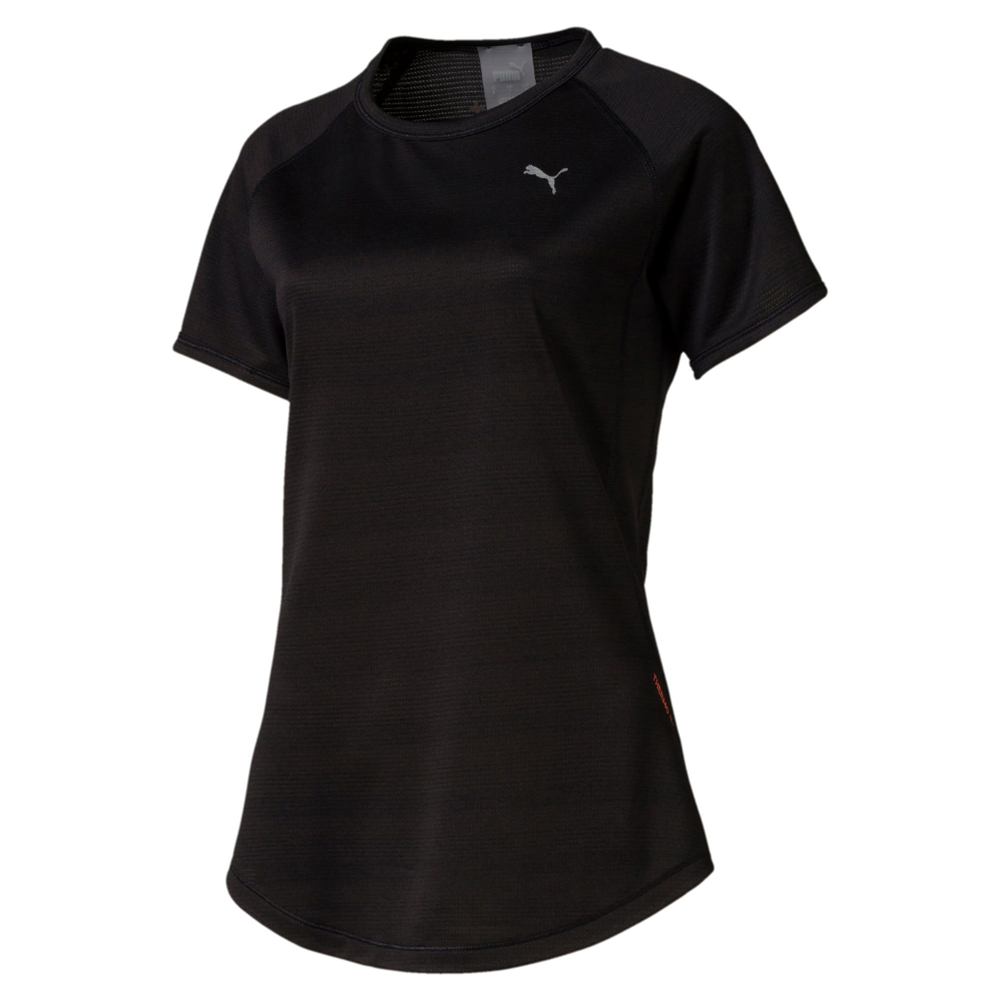 Thumbnail 4 of Get Fast Thermo-R+ Women's Tee, Puma Black, medium-IND