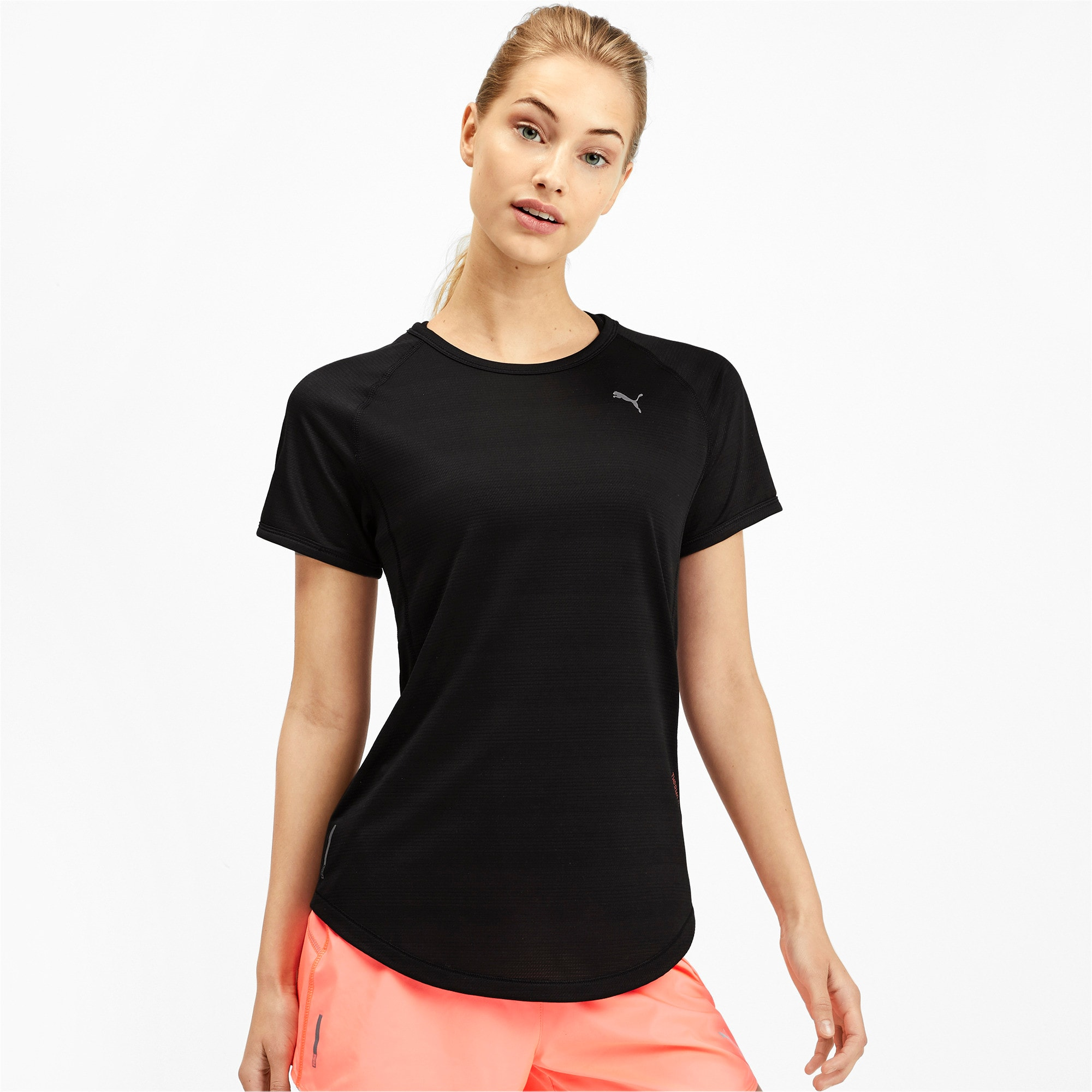 Thumbnail 1 of Get Fast Thermo-R+ Women's Tee, Puma Black, medium-IND