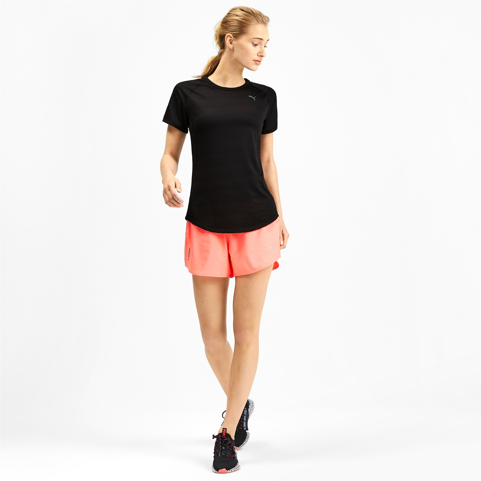 Thumbnail 3 of Get Fast Thermo-R+ Women's Tee, Puma Black, medium-IND