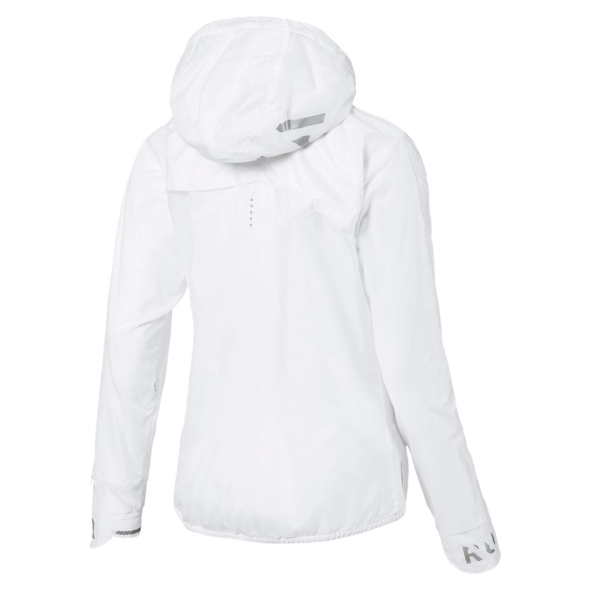 Thumbnail 5 of Get Fast Hooded Full Zip Women's Running Jacket, Puma White, medium