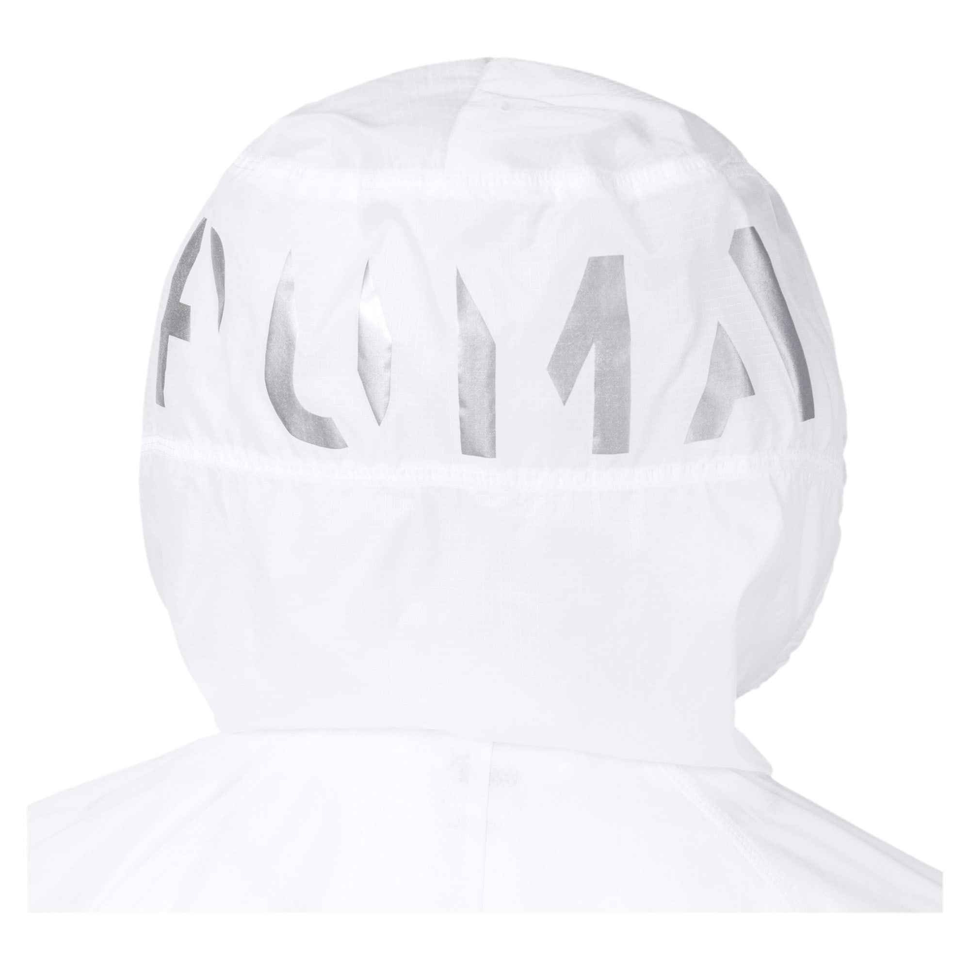 Thumbnail 7 of Get Fast Hooded Full Zip Women's Running Jacket, Puma White, medium