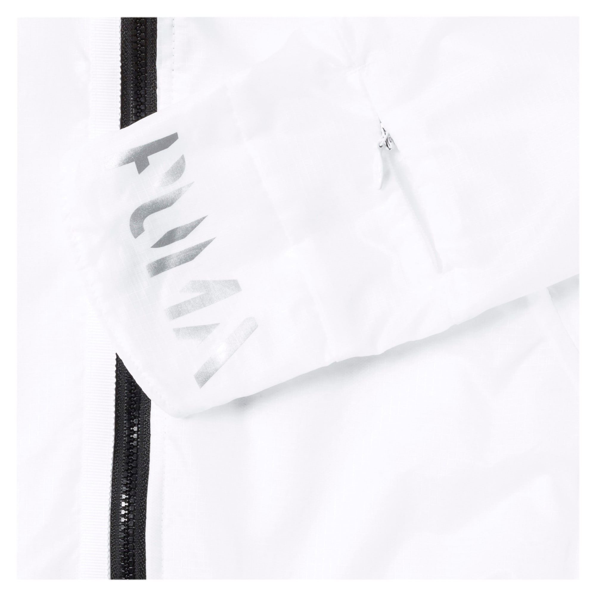 Thumbnail 8 of Get Fast Hooded Full Zip Women's Running Jacket, Puma White, medium