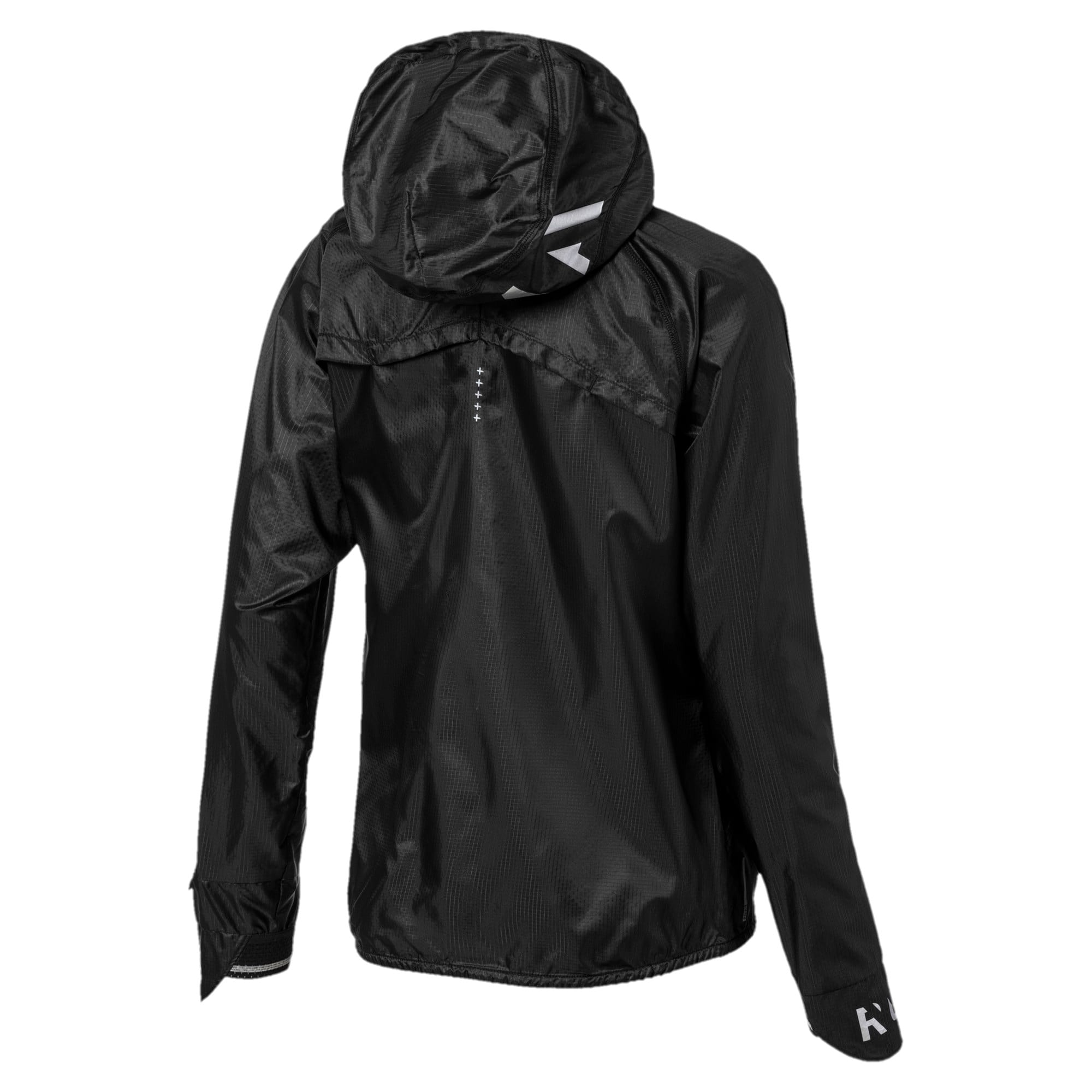 Thumbnail 5 of Get Fast Hooded Full Zip Women's Running Jacket, Puma Black, medium