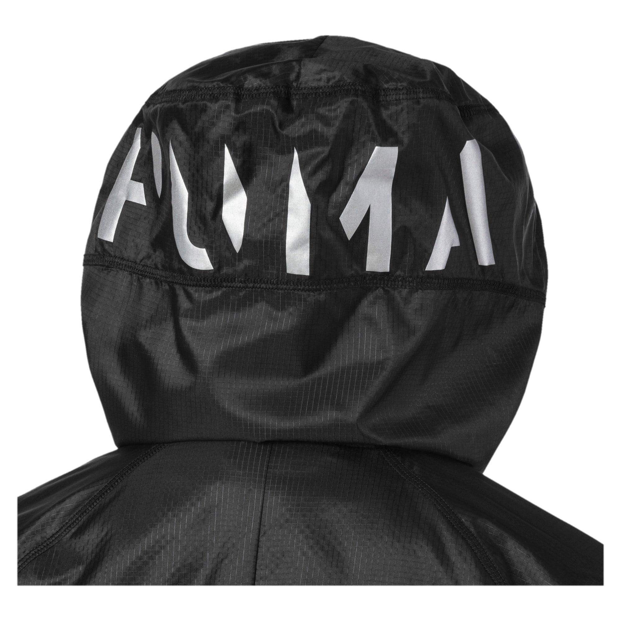 Thumbnail 7 of Get Fast Hooded Full Zip Women's Running Jacket, Puma Black, medium