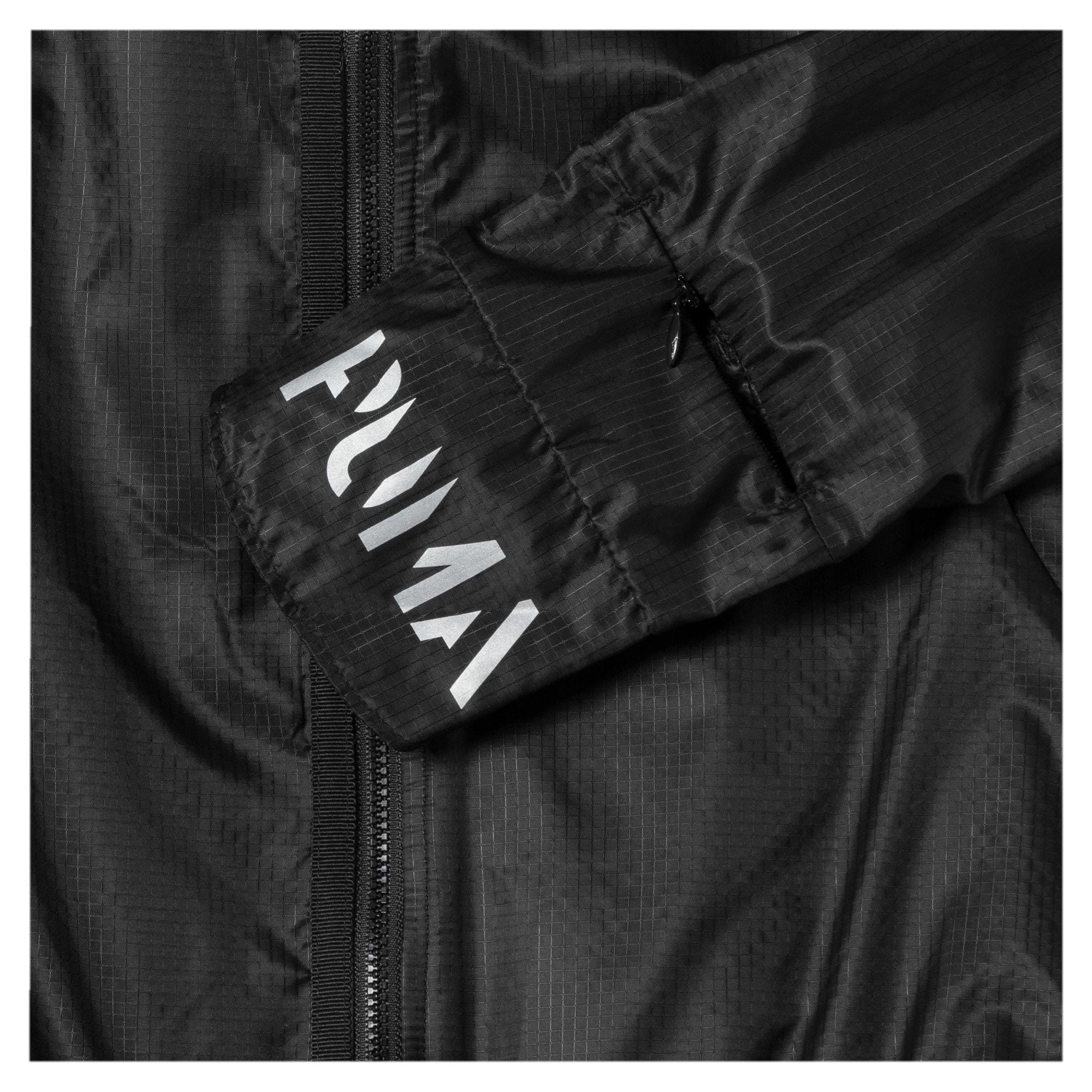 Thumbnail 8 of Get Fast Hooded Full Zip Women's Running Jacket, Puma Black, medium