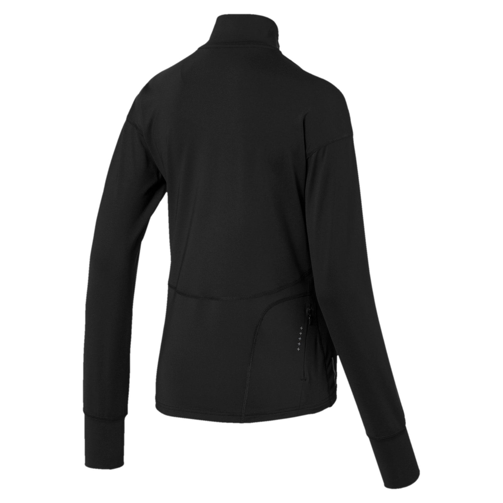 Thumbnail 5 of Ignite Long Sleeve Women's Running Pullover, Puma Black, medium