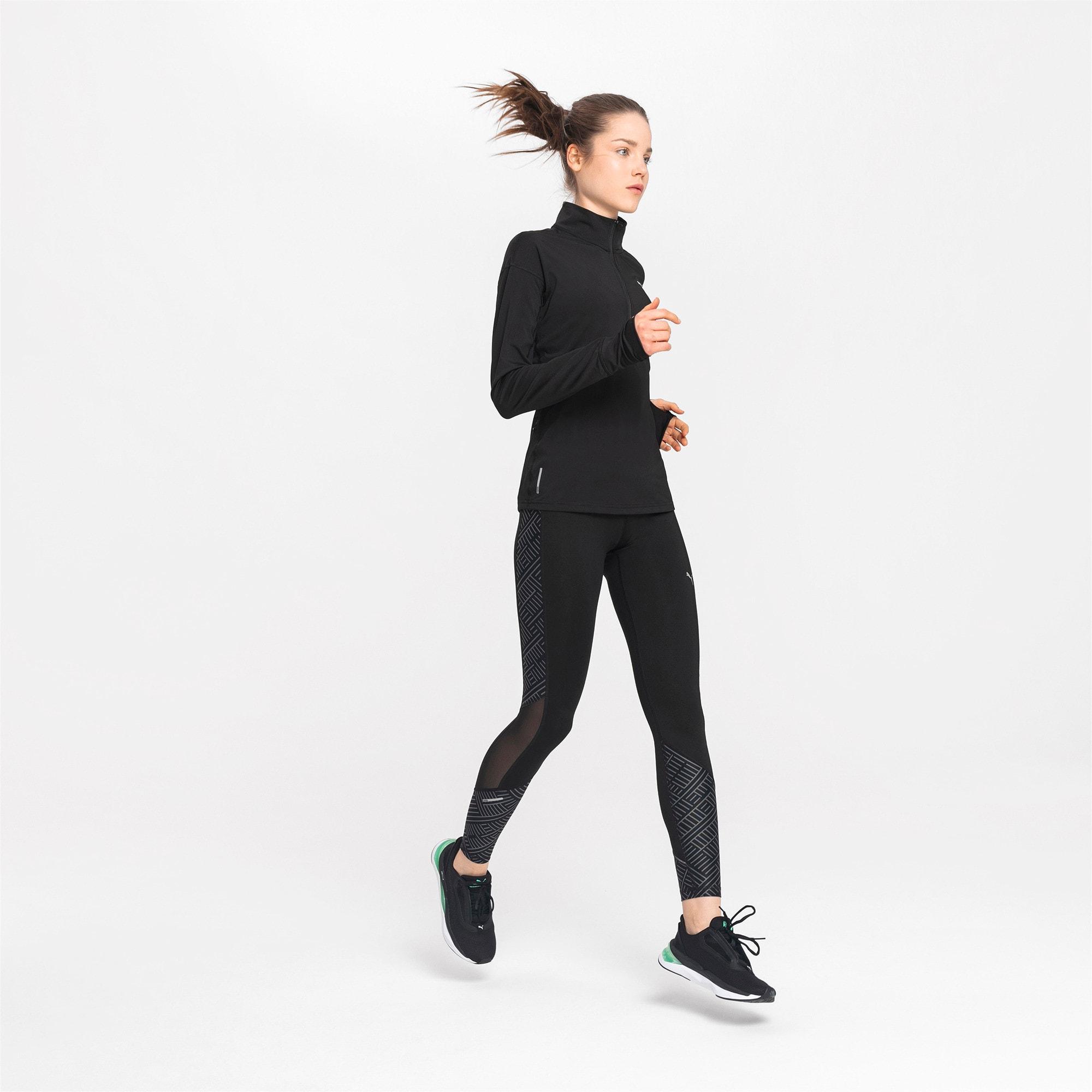 Thumbnail 3 of Ignite Long Sleeve Women's Running Pullover, Puma Black, medium