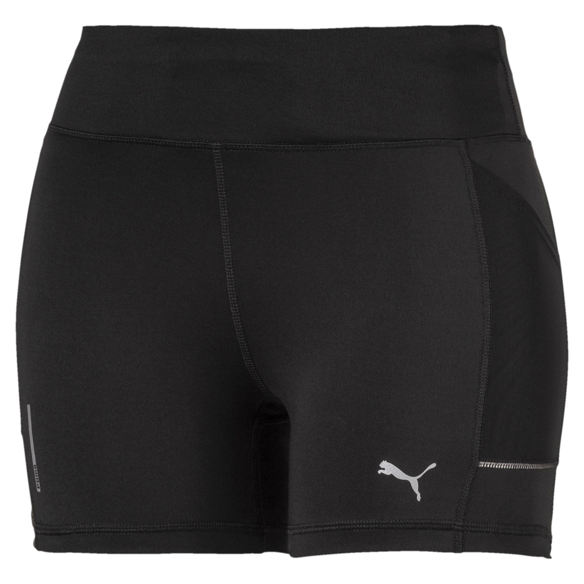 Thumbnail 4 of IGNITE Tight Women's Running Shorts, Puma Black, medium