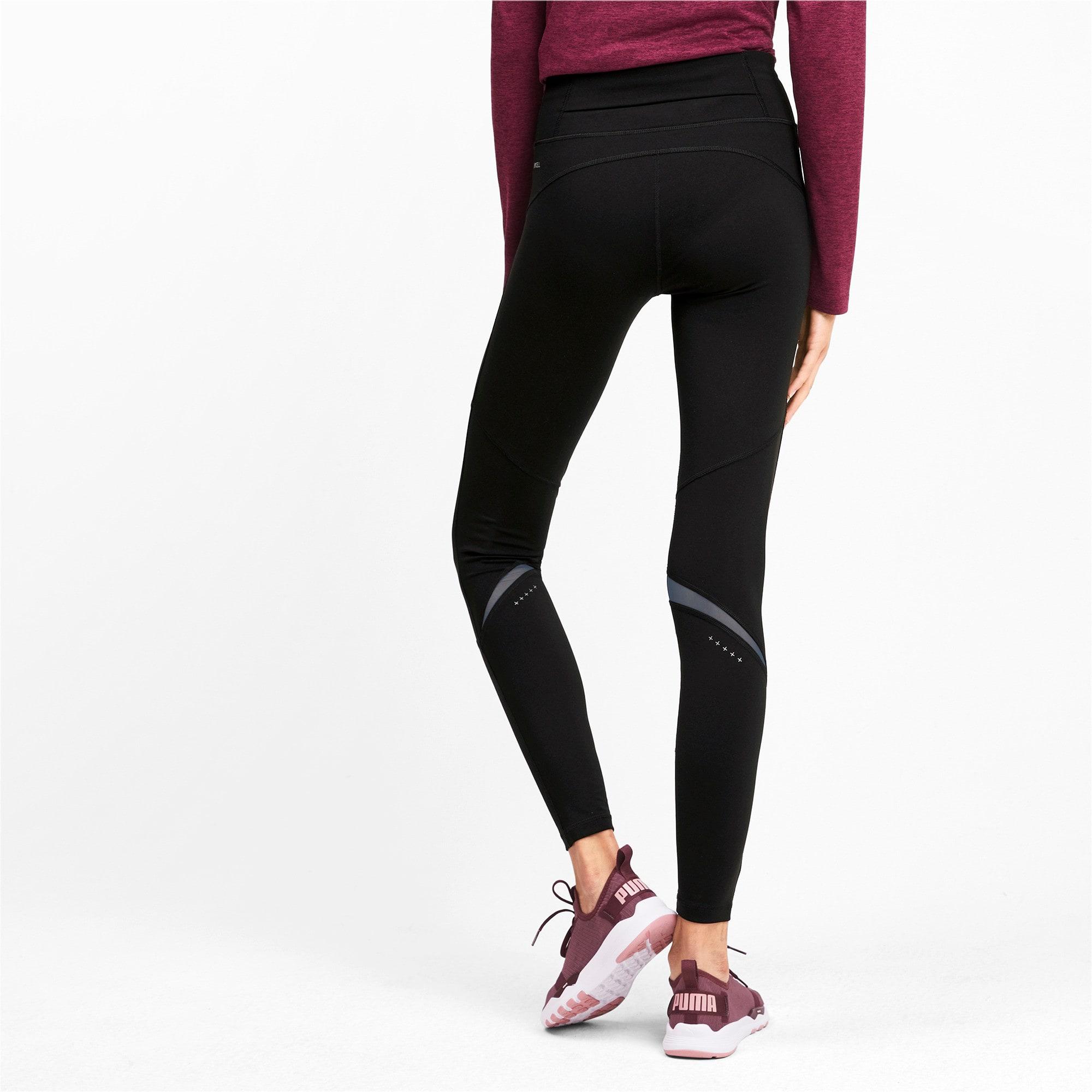 Thumbnail 2 of IGNITE Women's Running Tights, Puma Black, medium-IND
