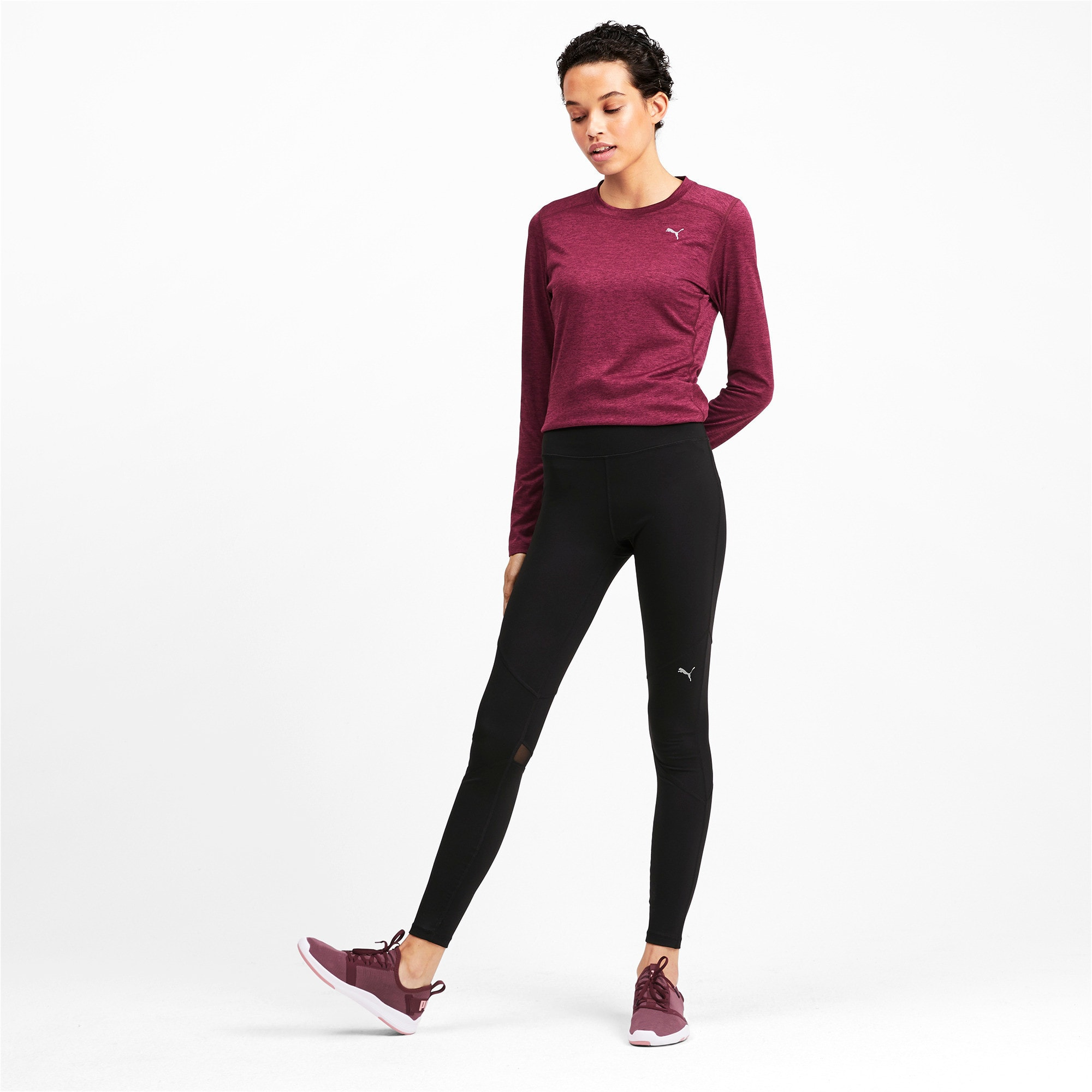 Thumbnail 3 of IGNITE Women's Running Tights, Puma Black, medium-IND
