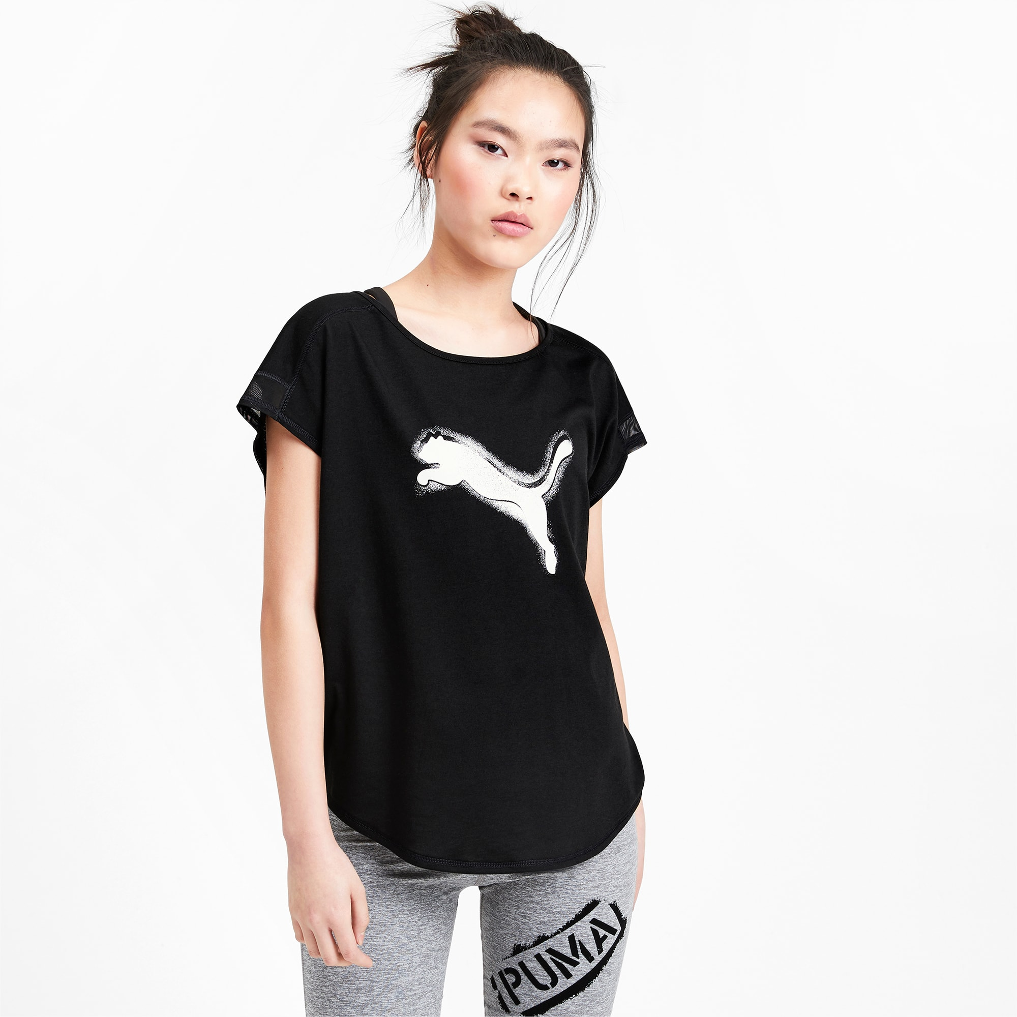 PUMA Damen Essential Tee T Shirt: : Bekleidung