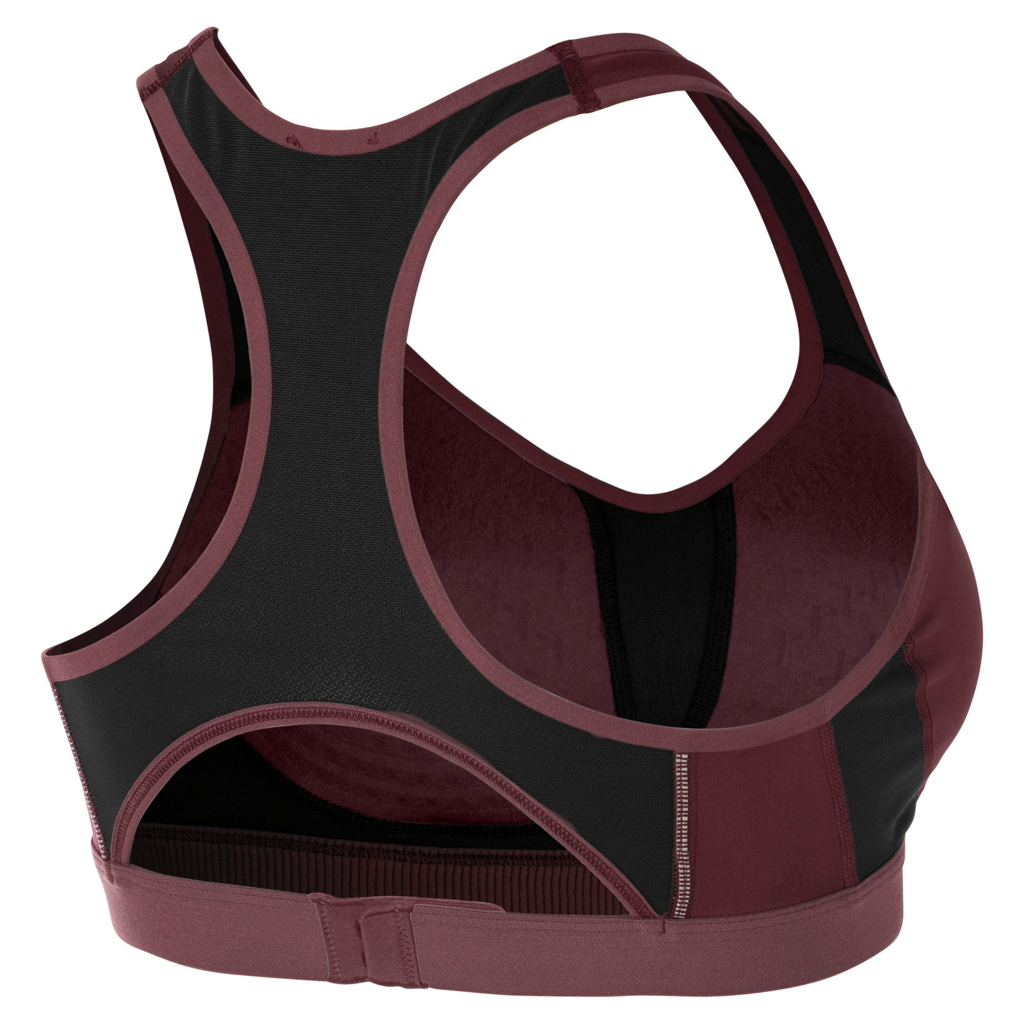 Thumbnail 5 of Get Fast Women's Training Bra, Vineyard Wine-Puma Black, medium