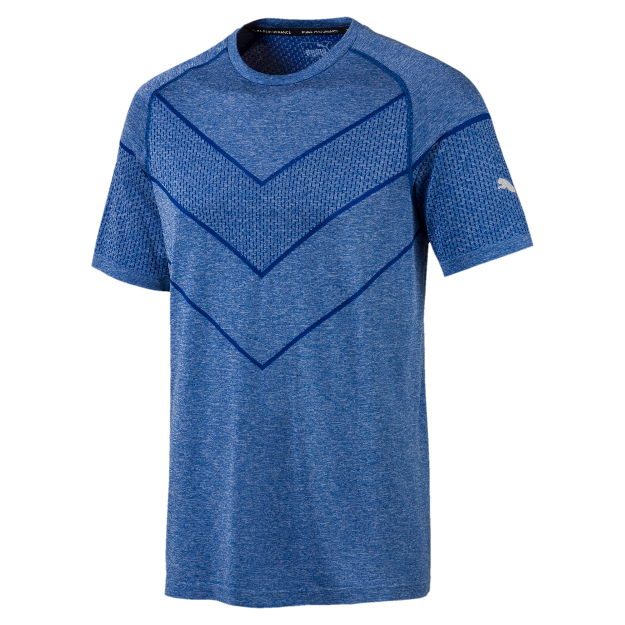 Reactive evoKNIT Men's Tee, Galaxy Blue Heather, large