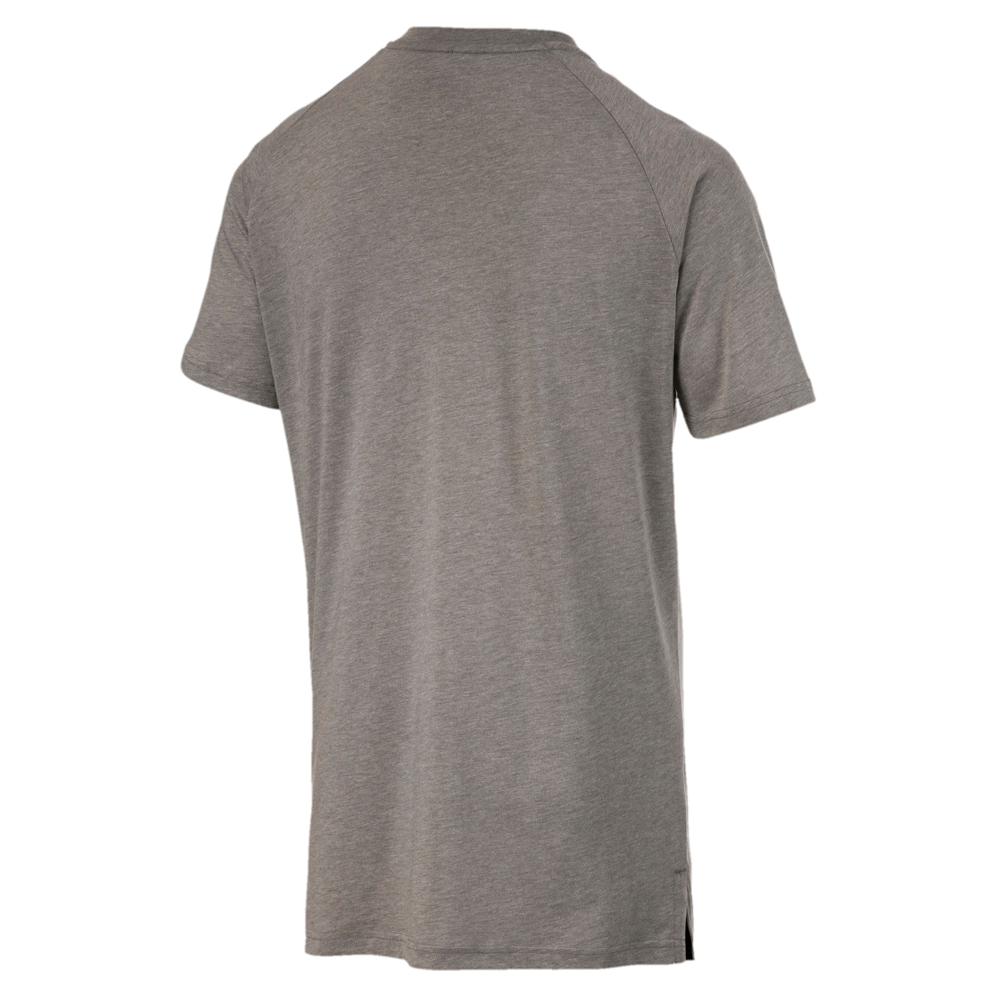 Thumbnail 5 of Reactive Herren T-Shirt, Medium Gray Heather, medium