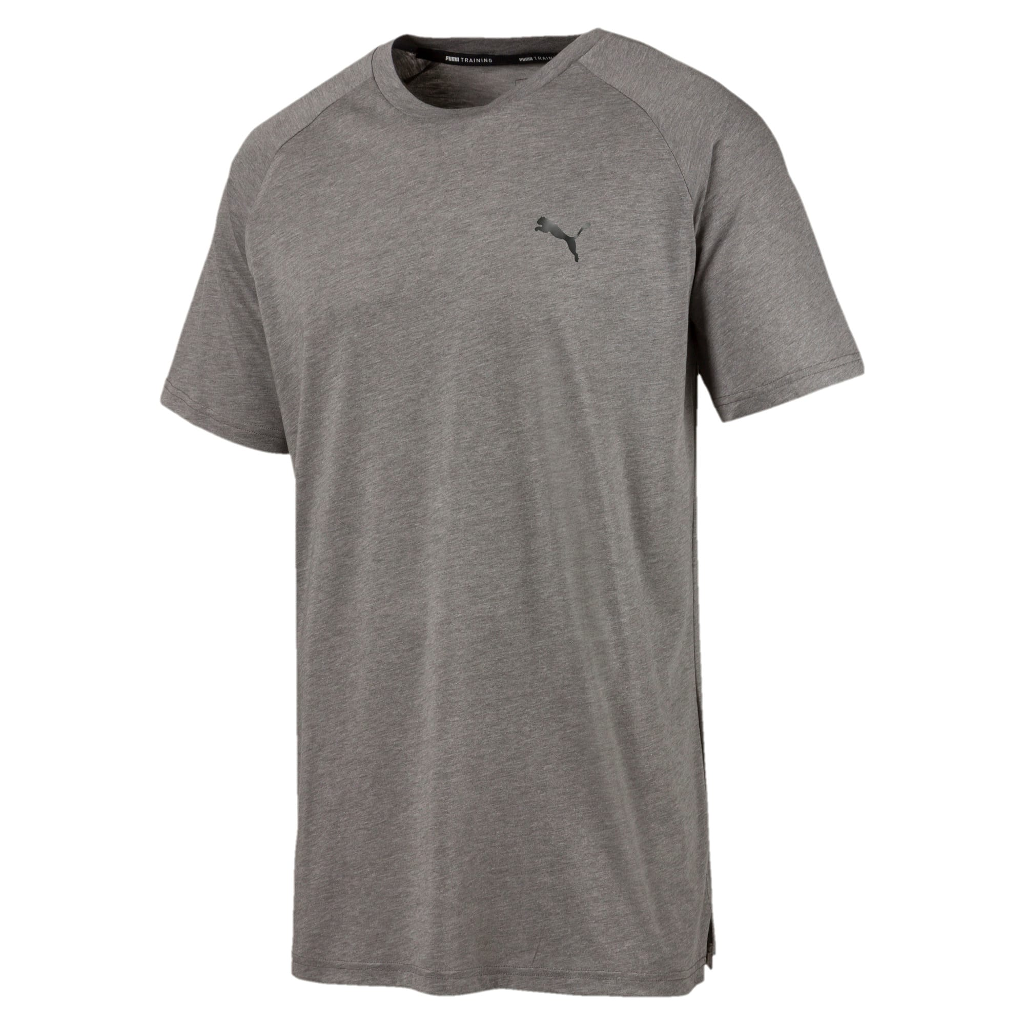 Thumbnail 4 of Reactive Herren T-Shirt, Medium Gray Heather, medium
