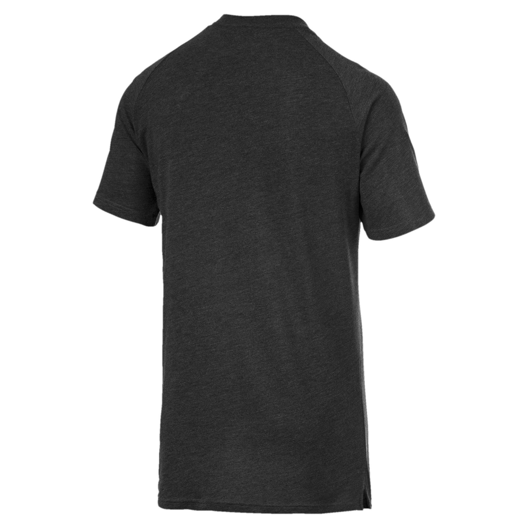 Thumbnail 5 of Meska koszulka Reactive treningowa z krótkim rekawem, Puma Black Heather, medium
