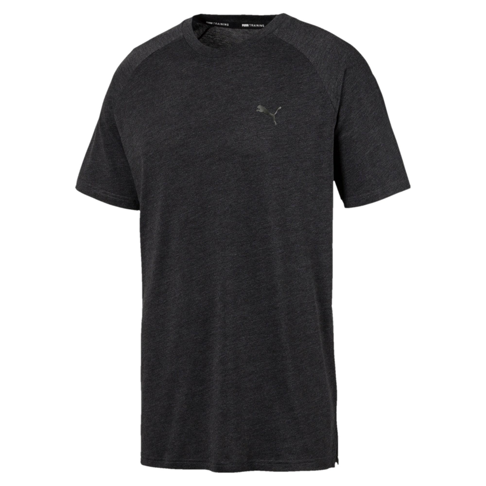 Thumbnail 4 of Meska koszulka Reactive treningowa z krótkim rekawem, Puma Black Heather, medium