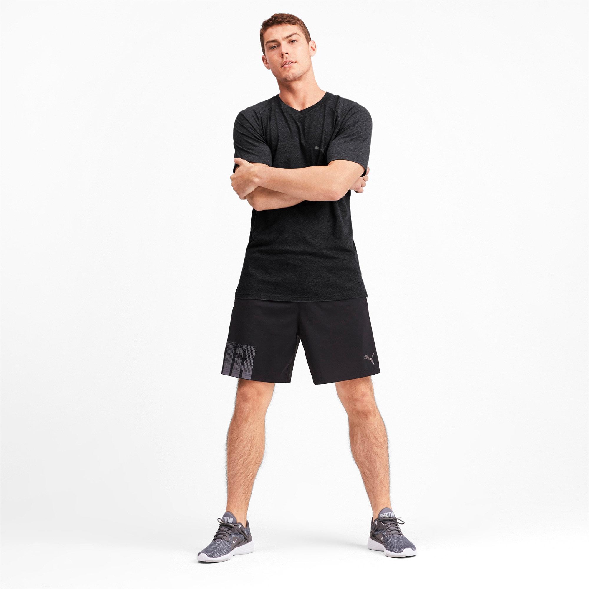 Thumbnail 3 of Meska koszulka Reactive treningowa z krótkim rekawem, Puma Black Heather, medium