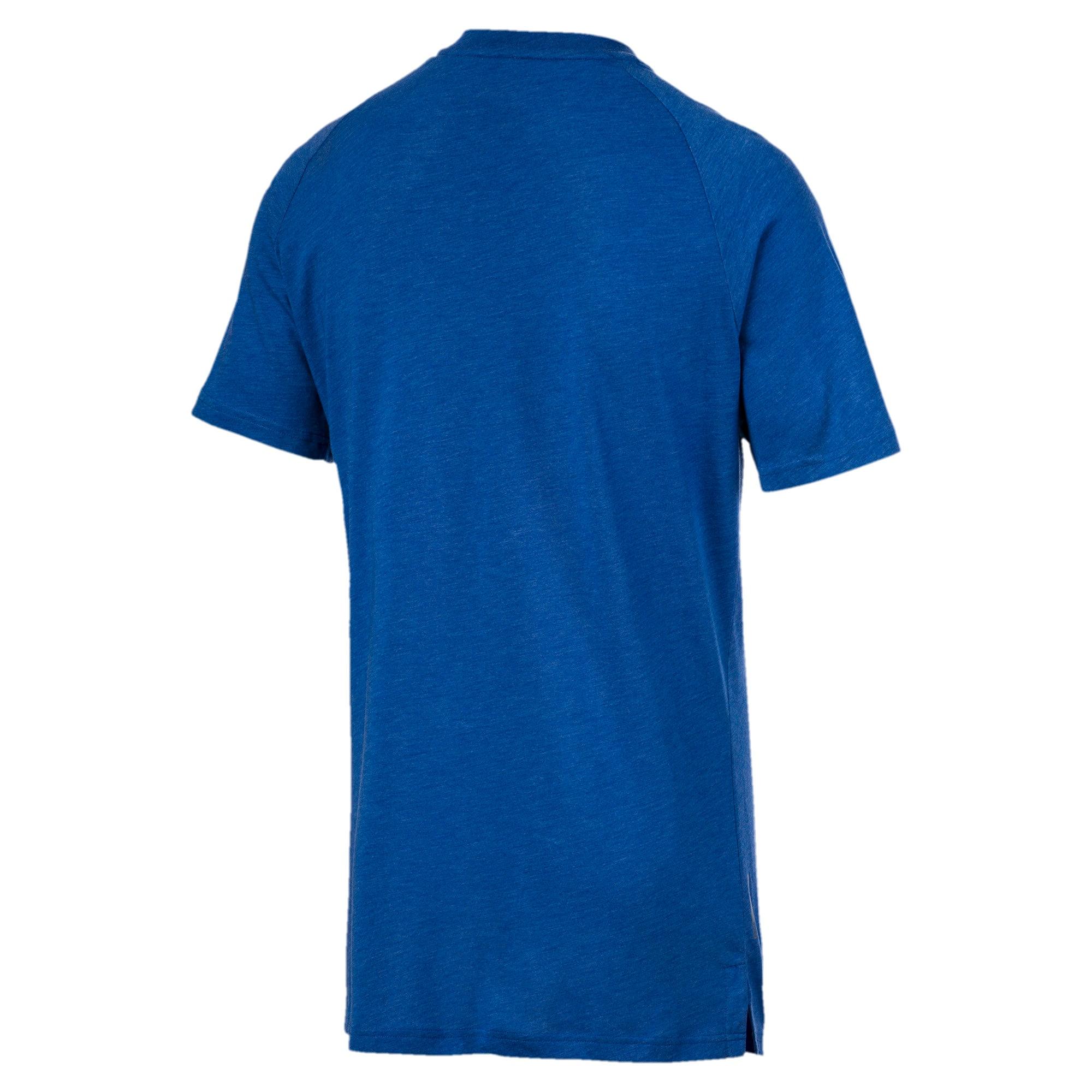 Thumbnail 5 of Reactive Short Sleeve Men's Training Tee, Galaxy Blue Heather, medium