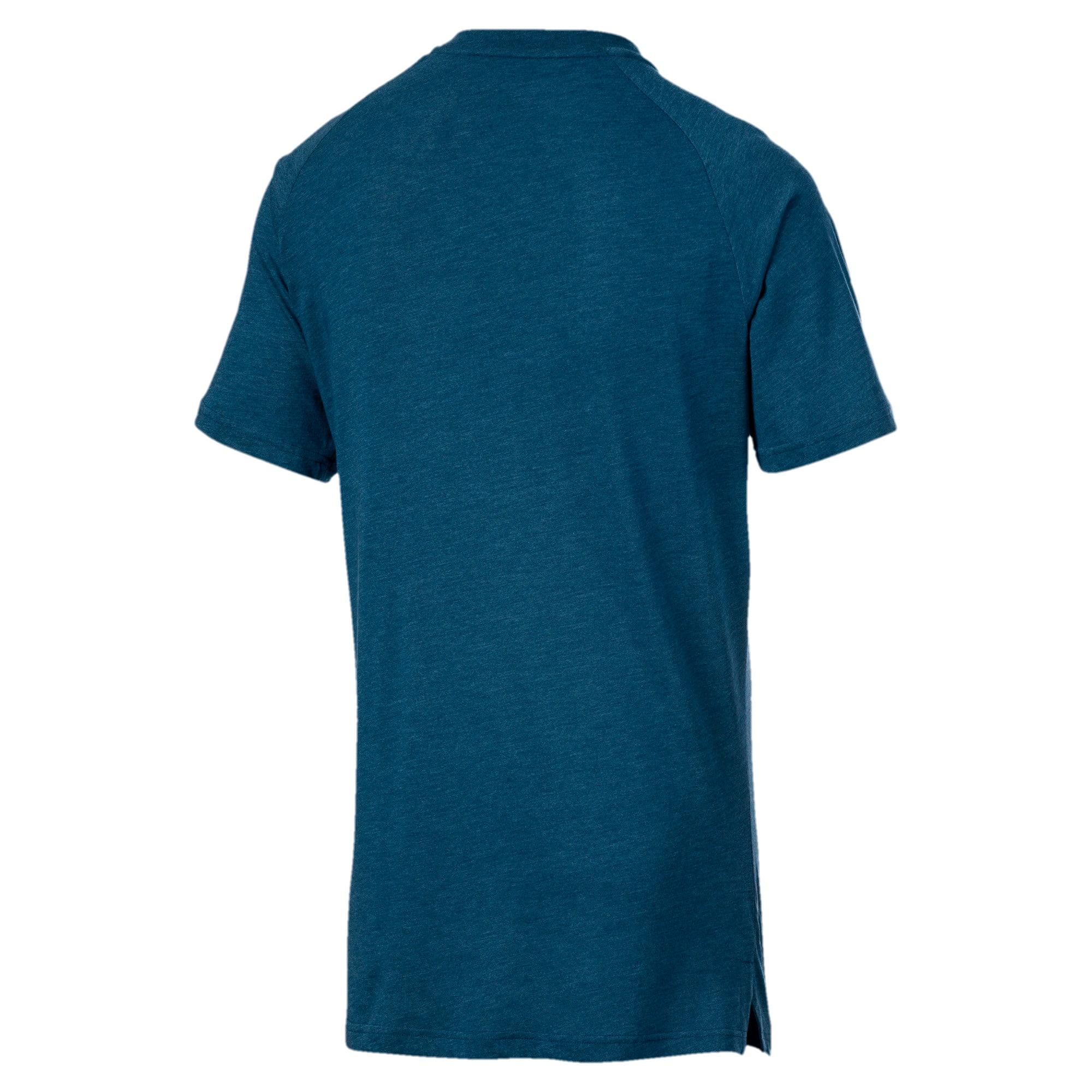 Miniaturka 5 Męska koszulka Reactive treningowa z krótkim rękawem, Kolor Gibraltar Sea Heather, średnie