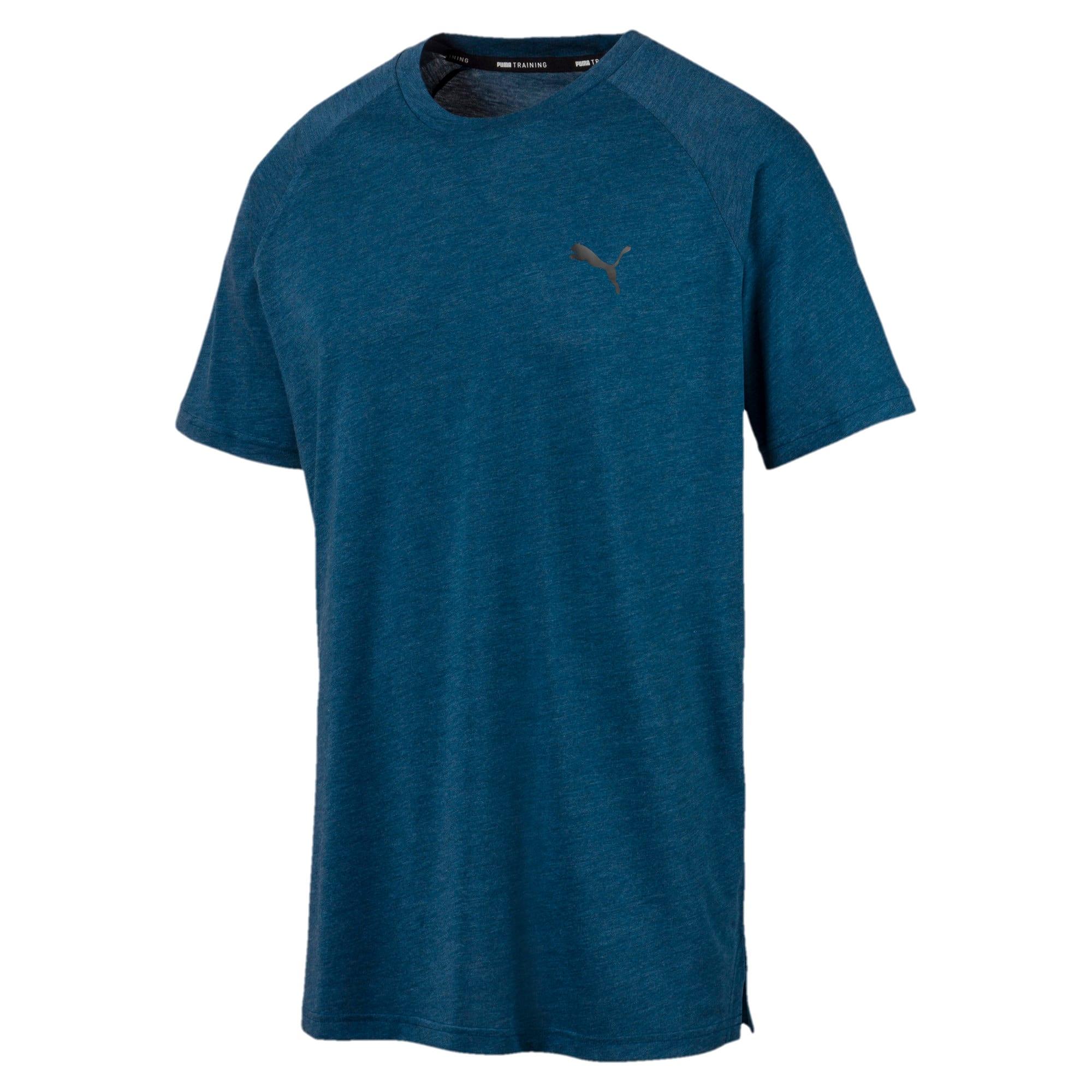 Miniaturka 4 Męska koszulka Reactive treningowa z krótkim rękawem, Kolor Gibraltar Sea Heather, średnie