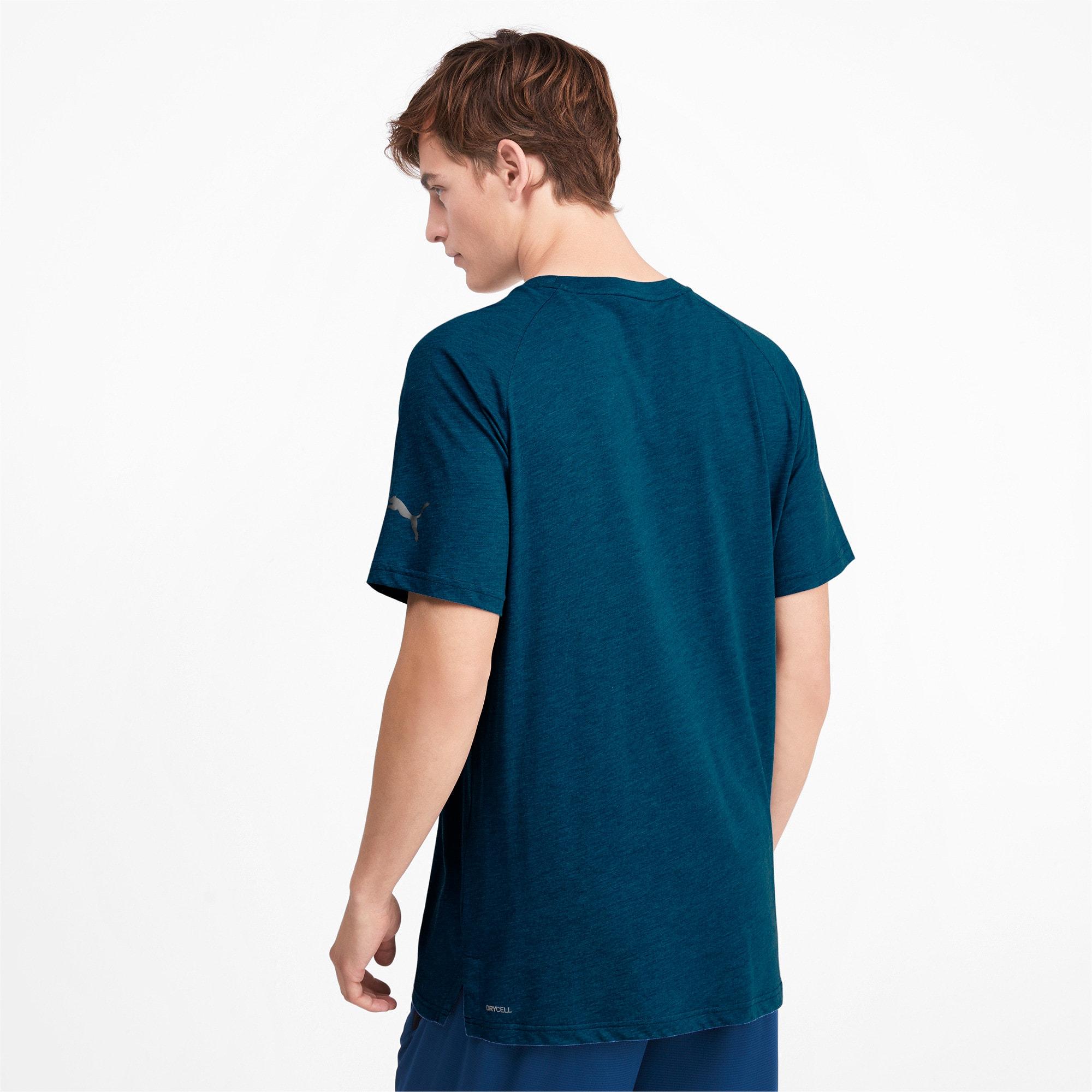 Miniaturka 2 Męska koszulka Reactive treningowa z krótkim rękawem, Kolor Gibraltar Sea Heather, średnie