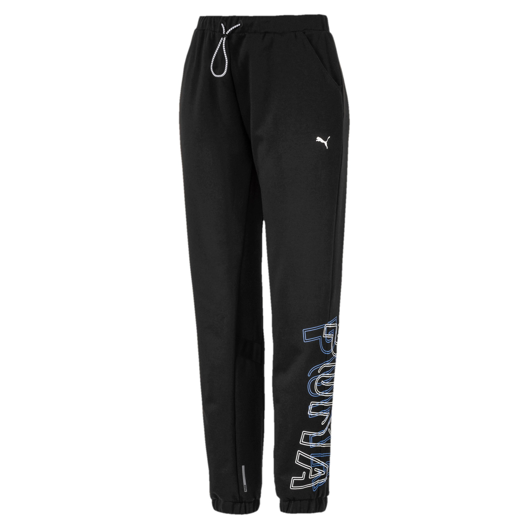 Thumbnail 4 of HIT Feel It Knitted Women's Training Sweatpants, Puma Black, medium