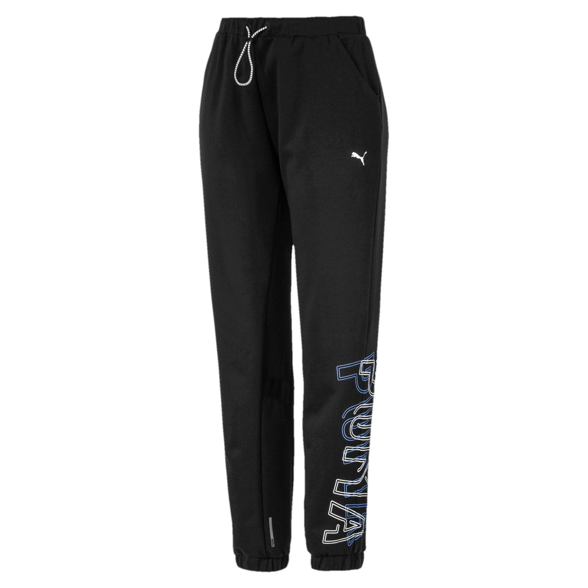 Thumbnail 4 of HIT Feel It Knitted Women's Training Sweatpants, Puma Black, medium-IND