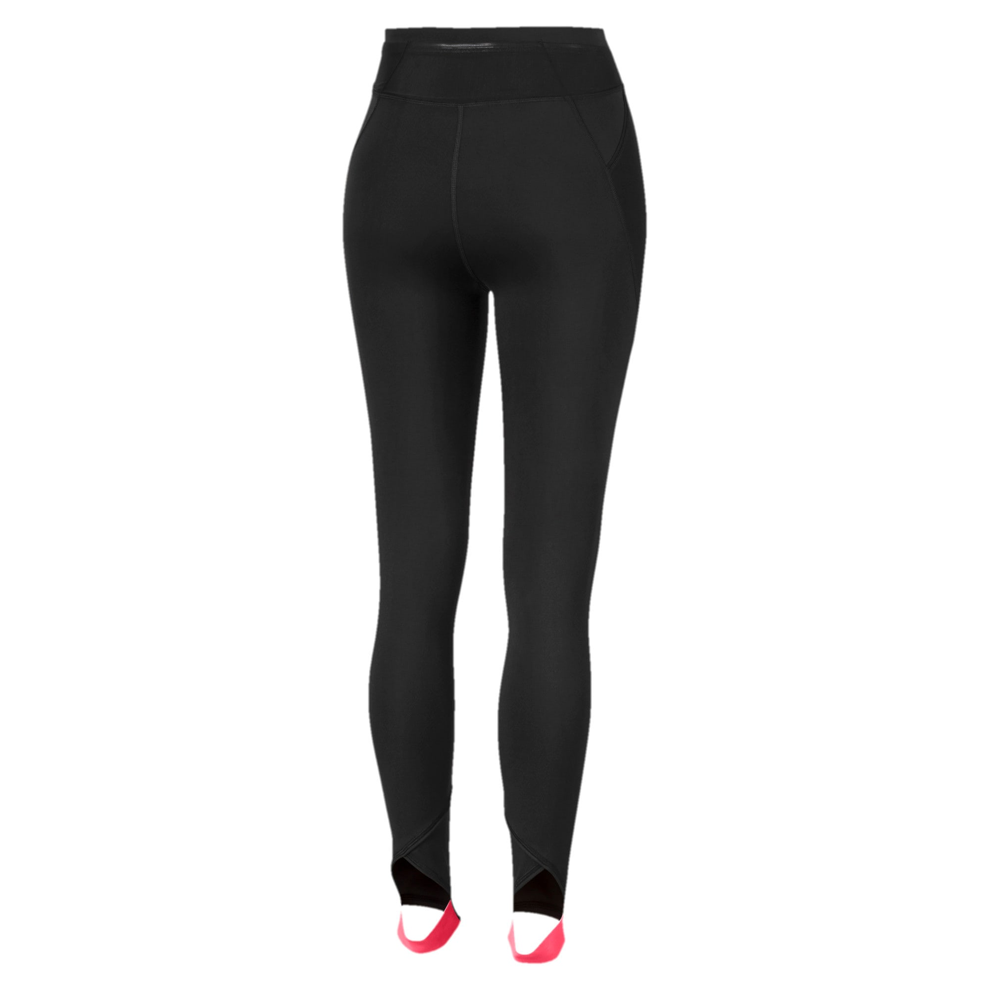 Thumbnail 5 of HIT Feel It 7/8 Women's Training Leggings, Puma Black-Pink Alert, medium