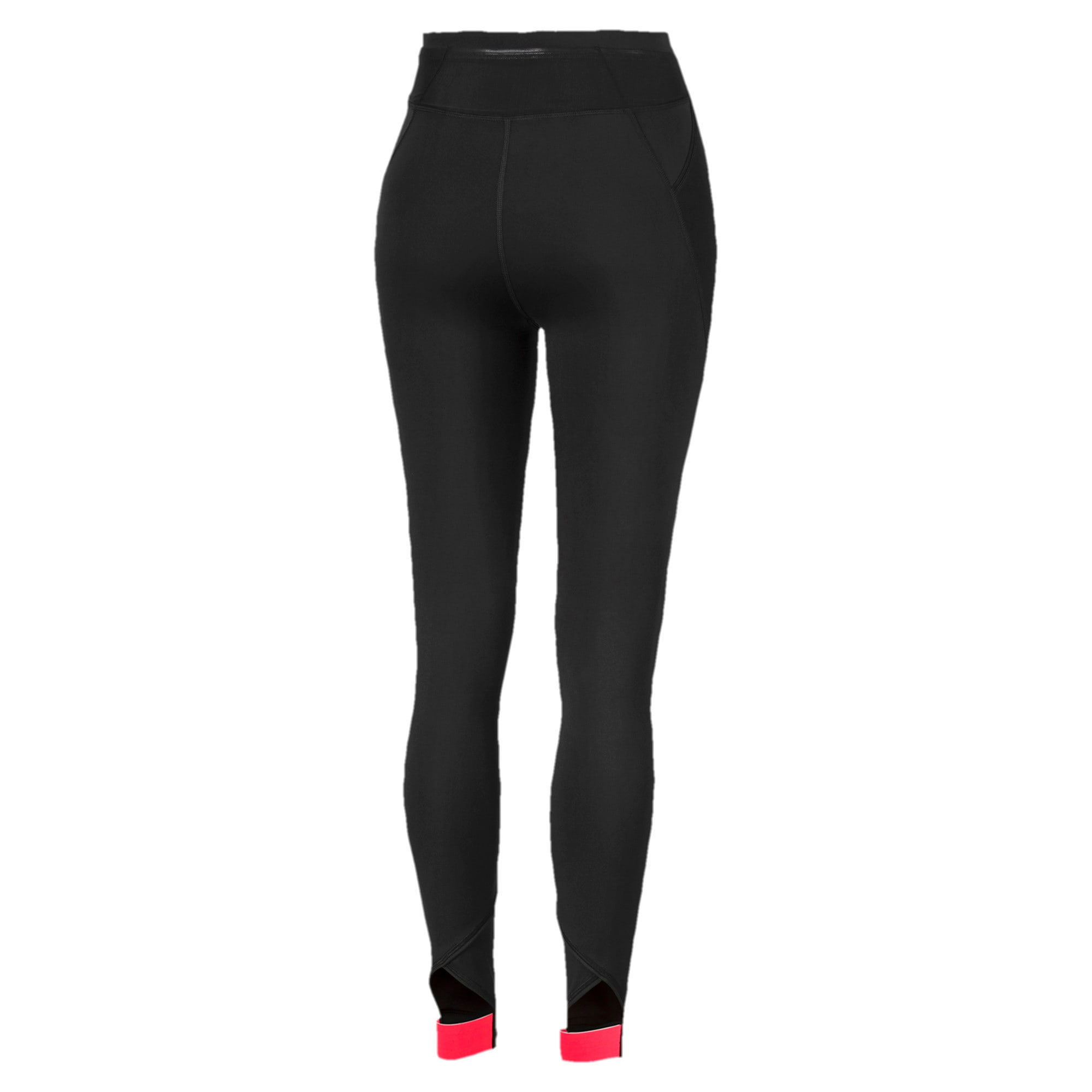 Thumbnail 5 of HIT Feel It 7/8 Women's Training Leggings, Puma Black-Pink Alert, medium-IND
