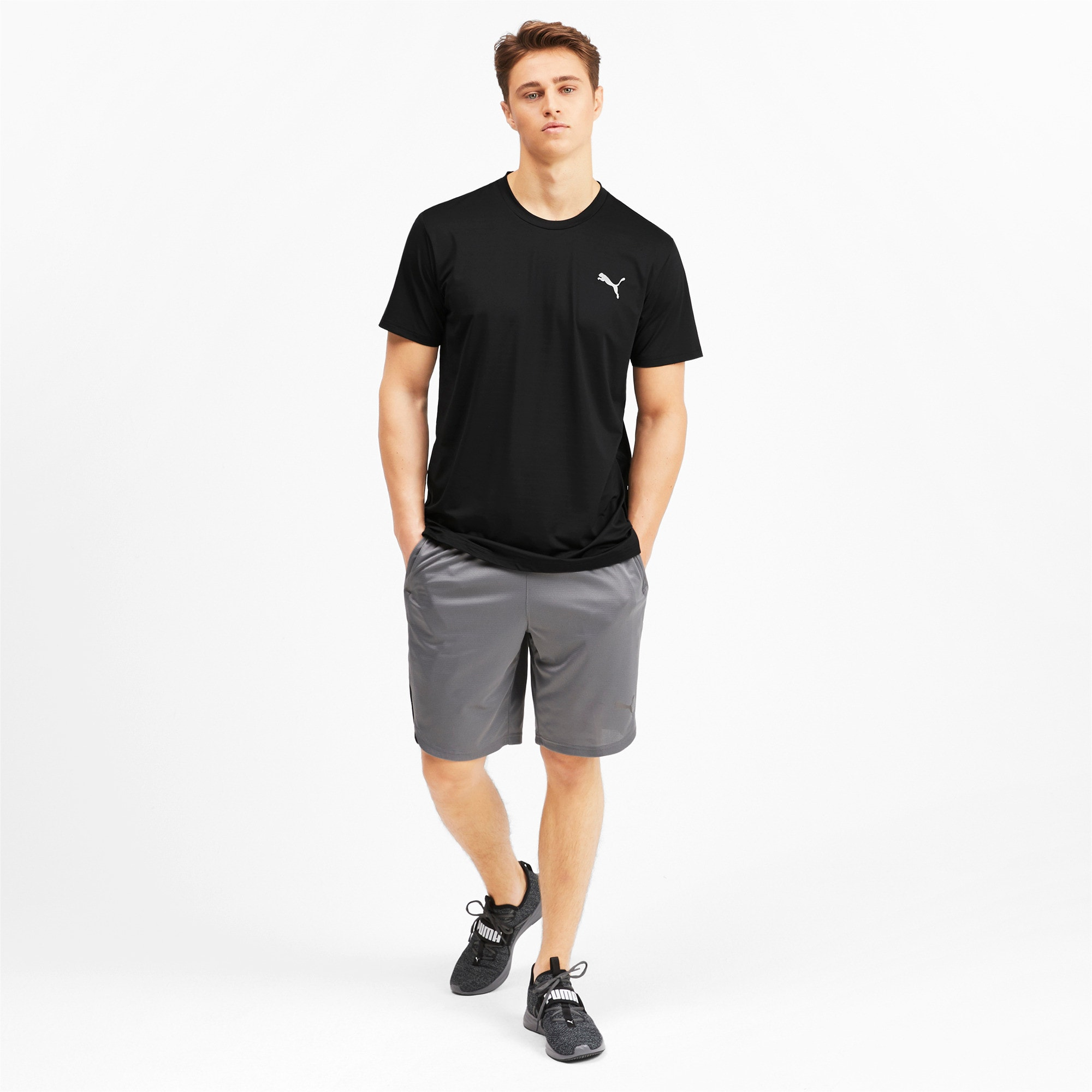 Thumbnail 3 of T-Shirt Reactive Tech pour homme, Puma Black, medium
