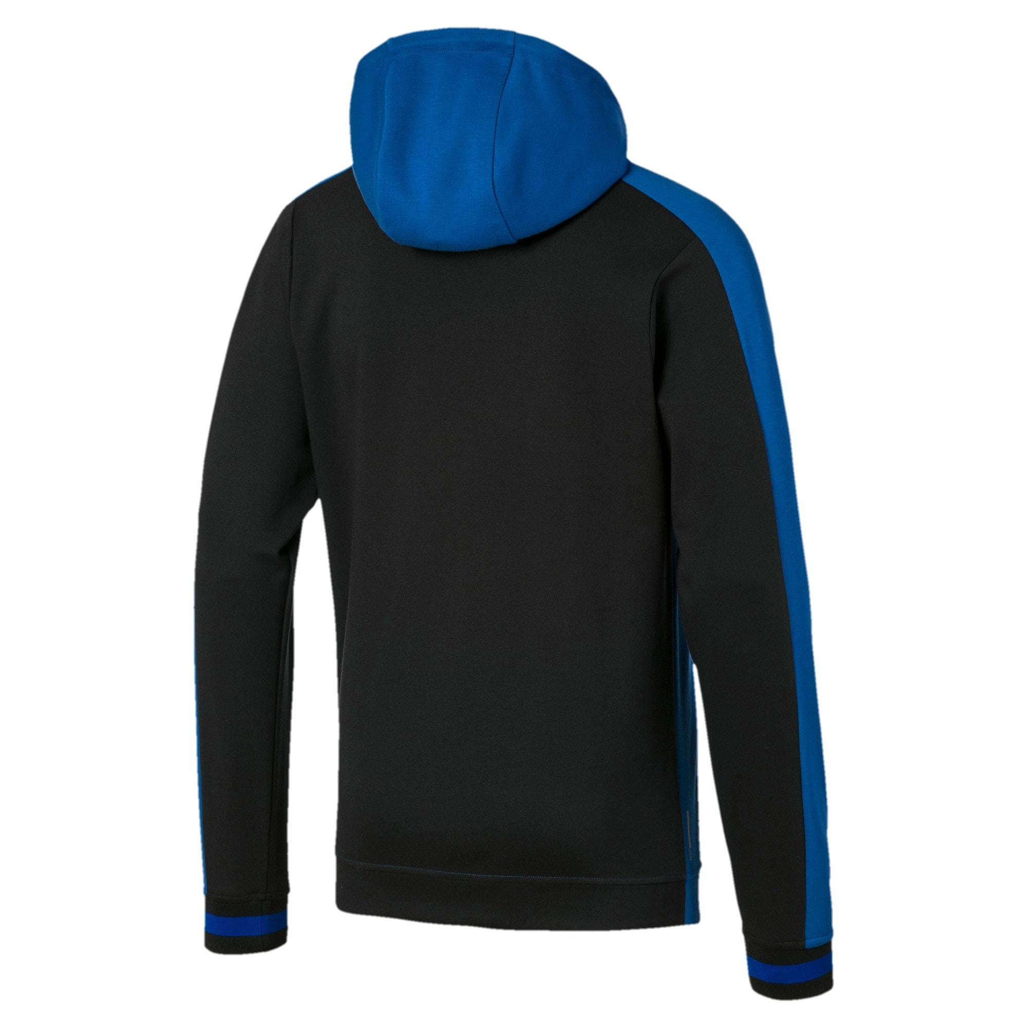 Thumbnail 5 of Collective Men's Hoodie, Galaxy Blue-Puma Black, medium