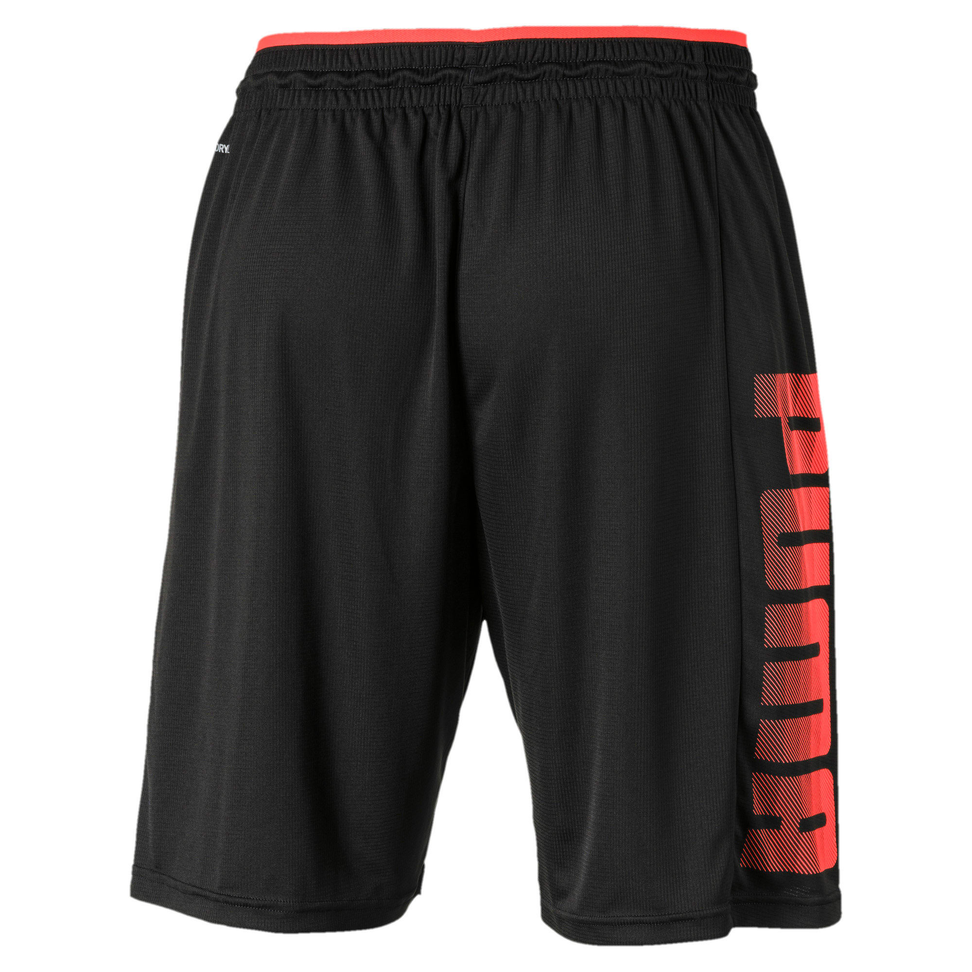 Miniatura 5 de Shorts de punto Collective para hombre, Puma Black-Nrgy Red, mediano