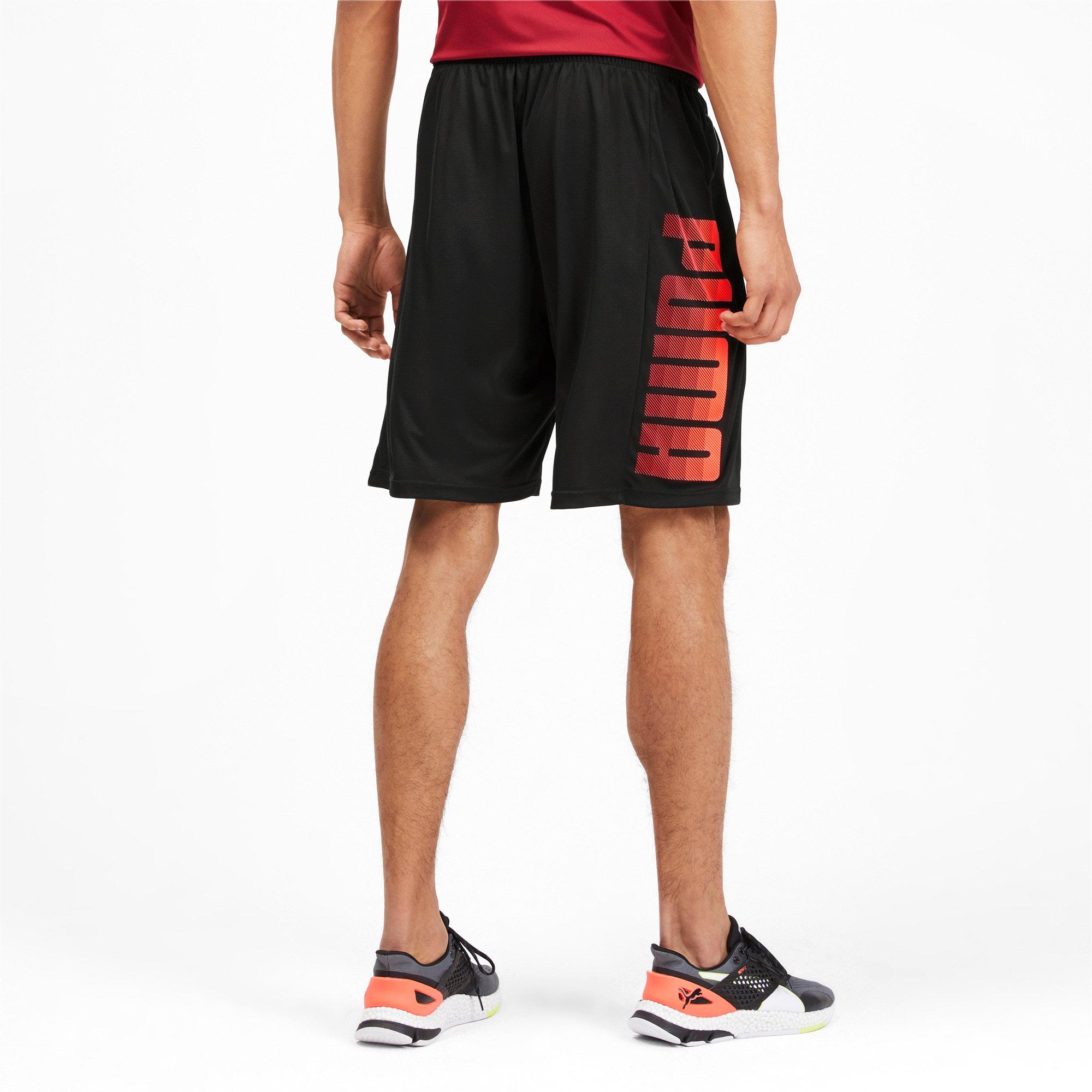 Miniaturka 2 Męskie dzianinowe szorty treningowe Collective, Kolor Puma Black-Nrgy Red, średnie