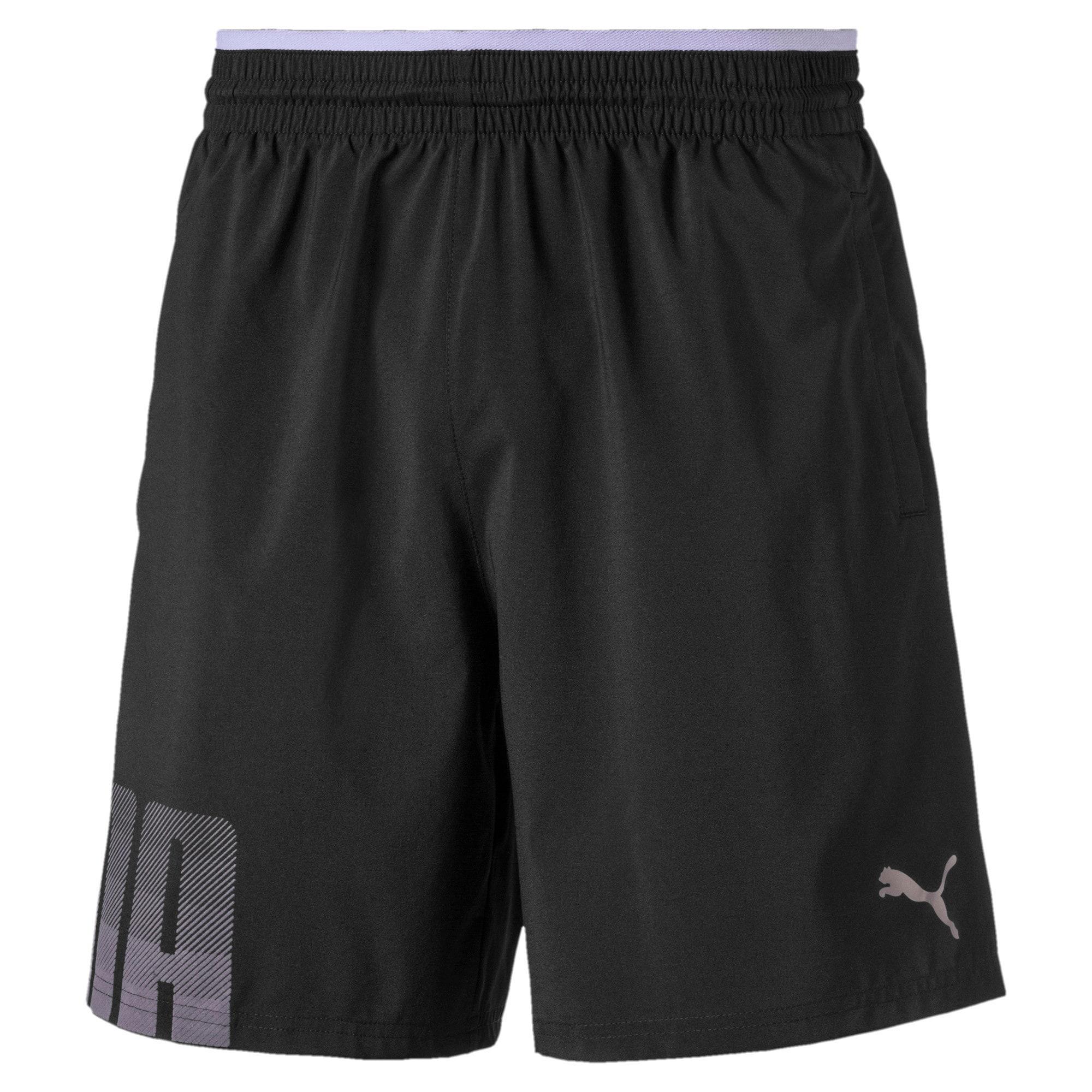 Thumbnail 4 of Collective Woven Men's Training Shorts, Puma Black, medium-IND