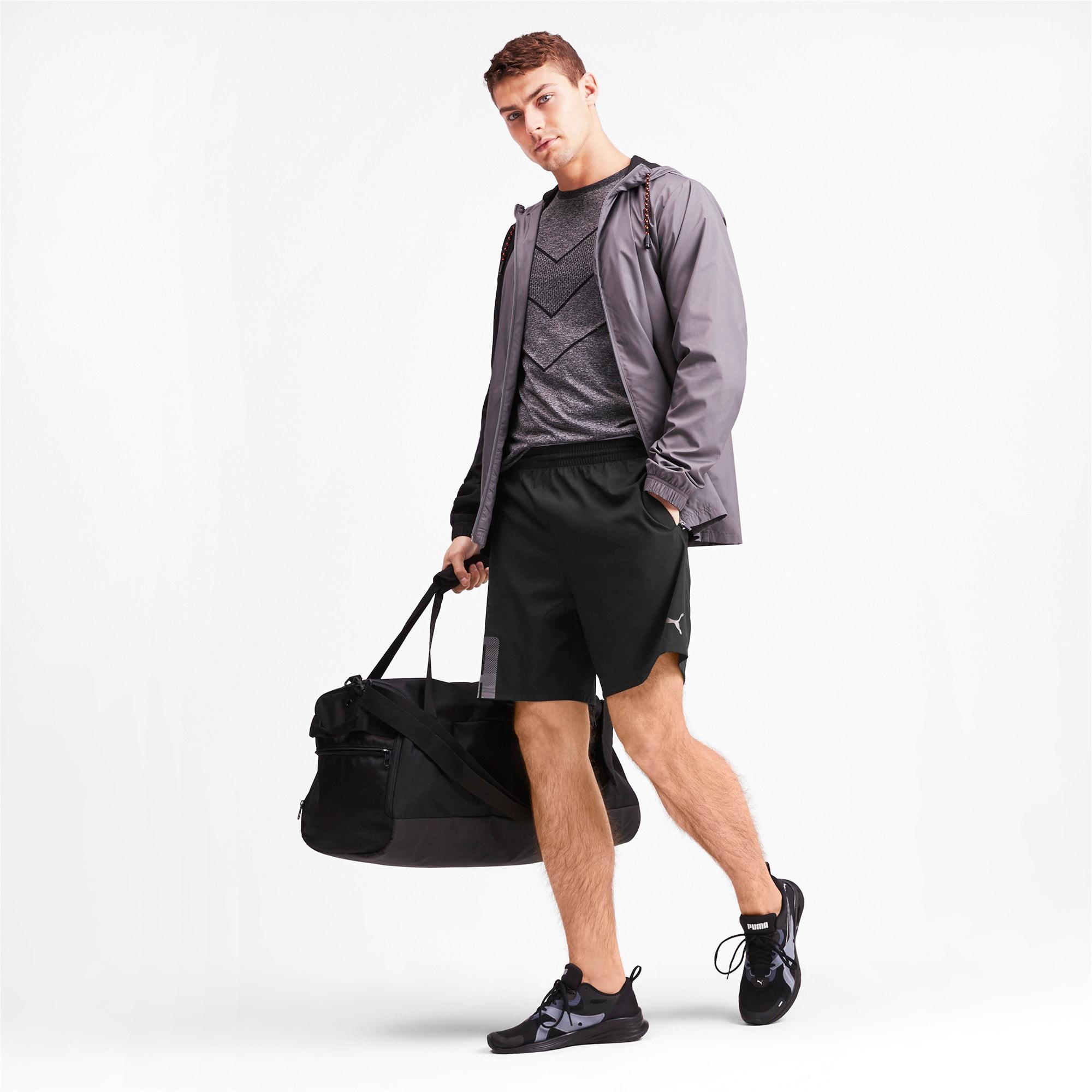 Thumbnail 3 of Collective Woven Men's Training Shorts, Puma Black, medium-IND
