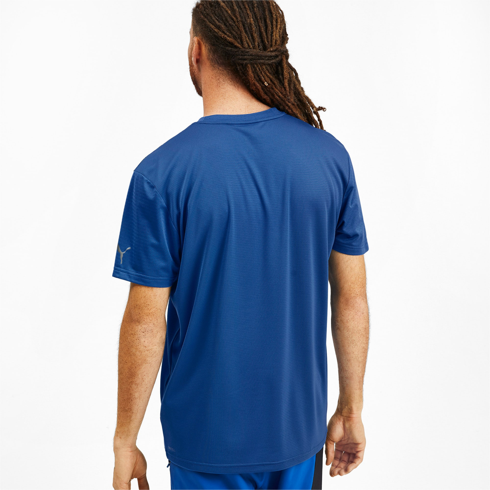Thumbnail 2 of T-Shirt Collective pour homme, Galaxy Blue, medium