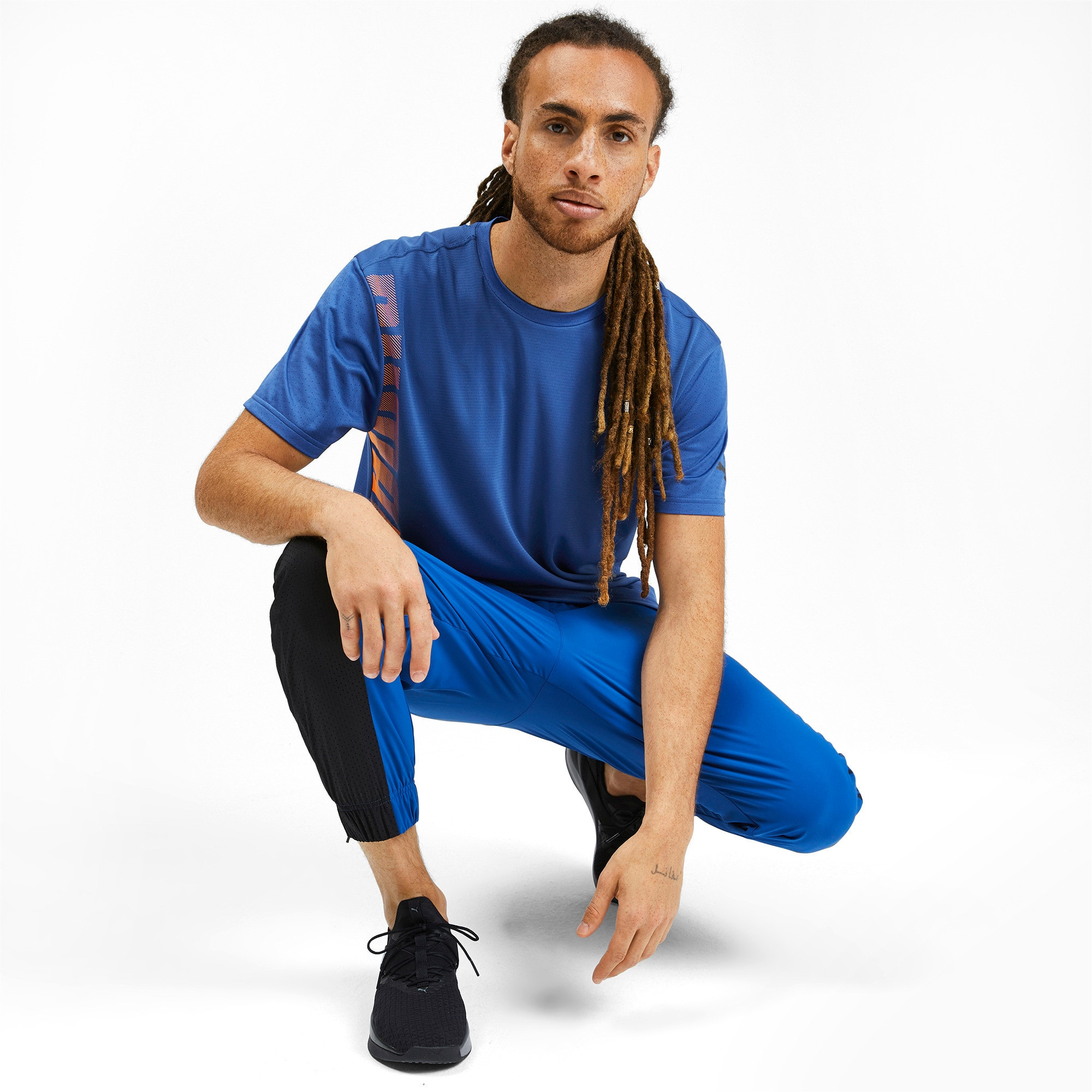 Thumbnail 3 of T-Shirt Collective pour homme, Galaxy Blue, medium