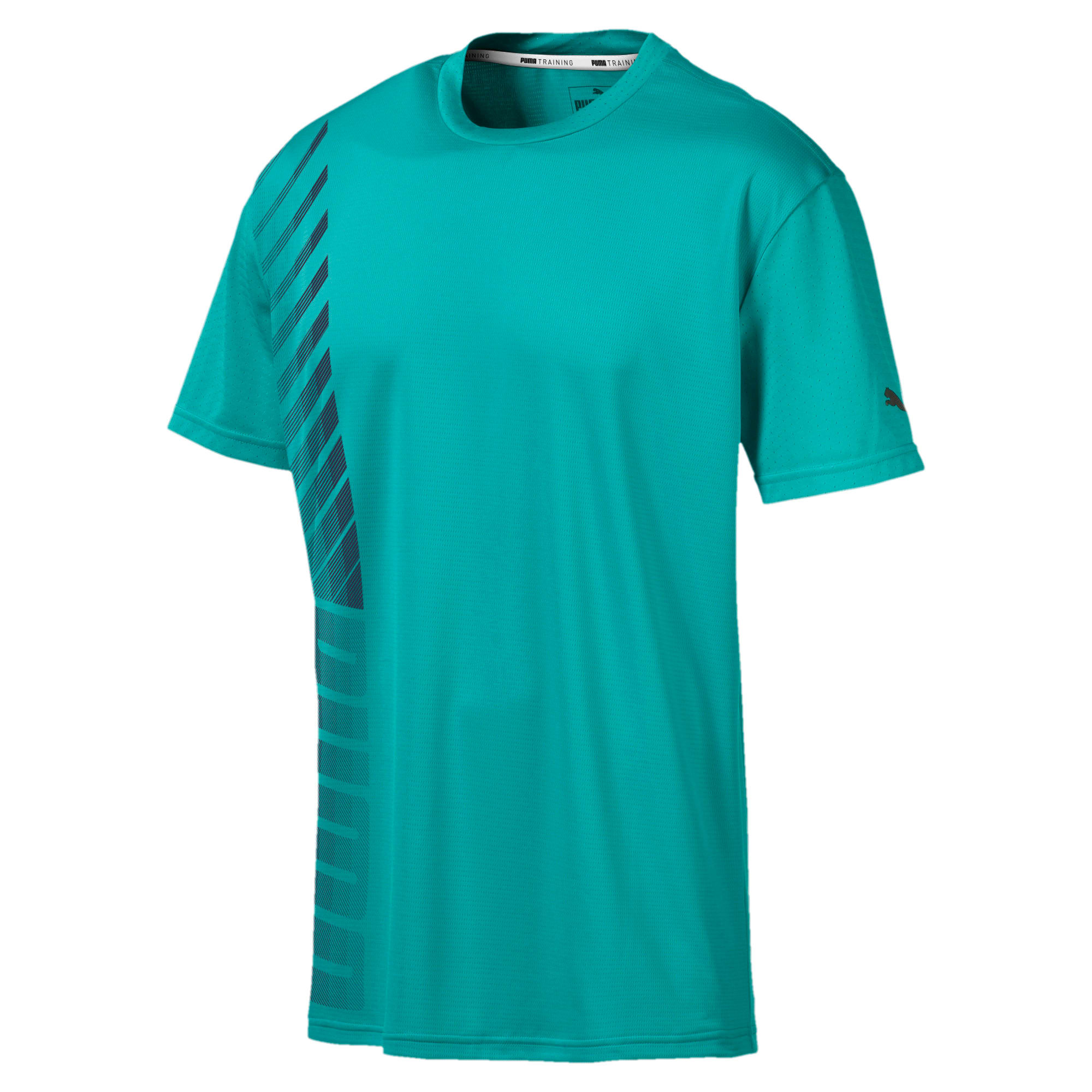 Thumbnail 4 of T-Shirt Collective pour homme, Blue Turquoise, medium