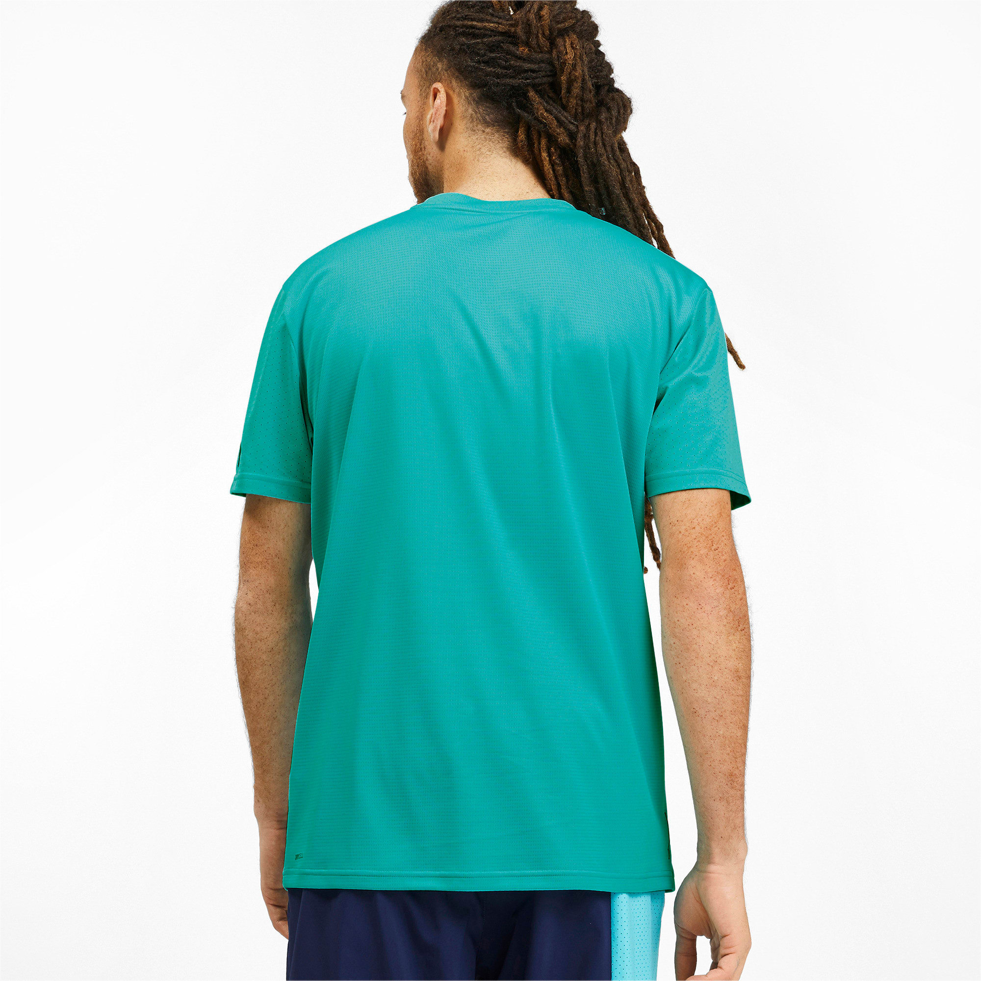 Thumbnail 2 of T-Shirt Collective pour homme, Blue Turquoise, medium
