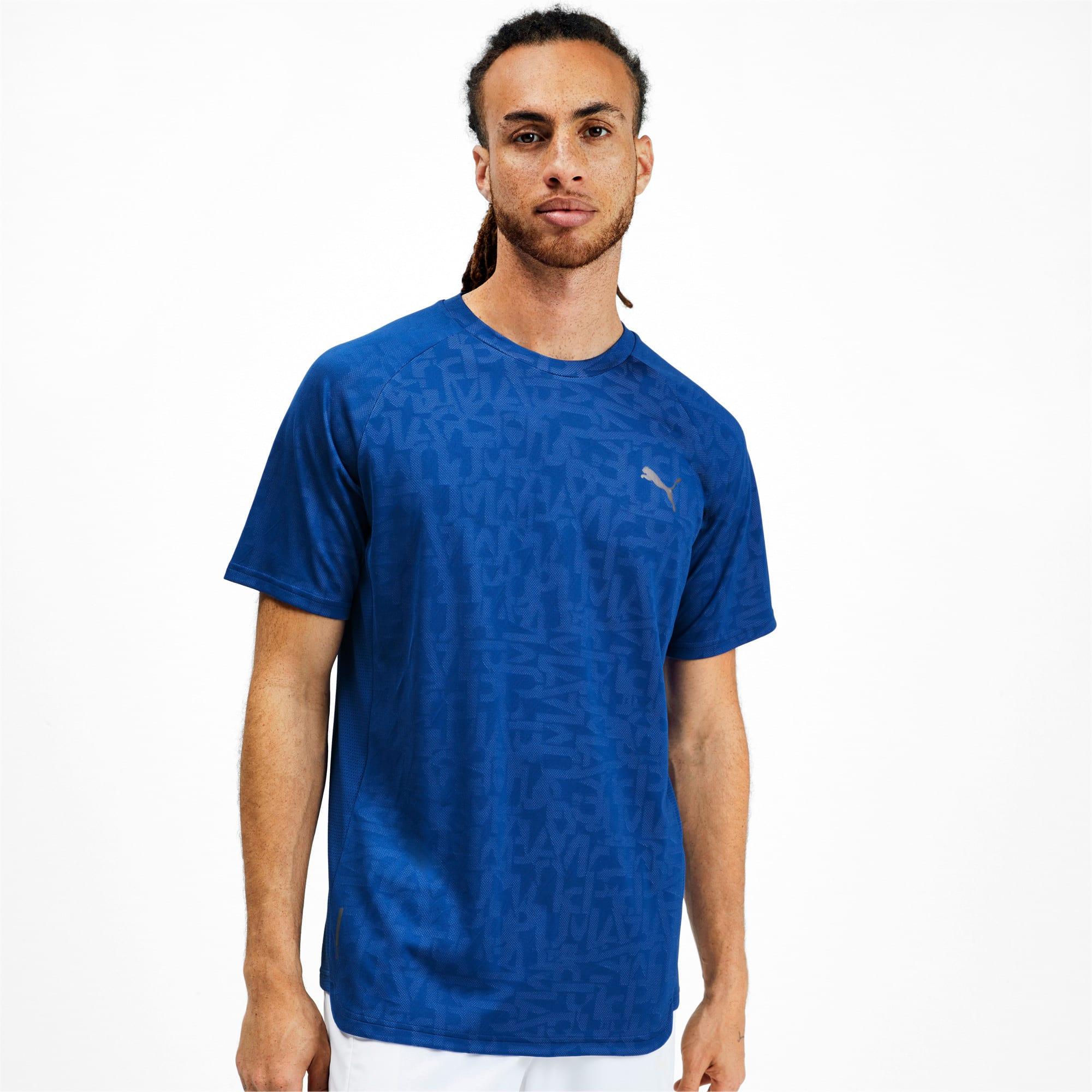 Thumbnail 1 van Power Vent T-shirt voor mannen, Galaxy-blauw, medium