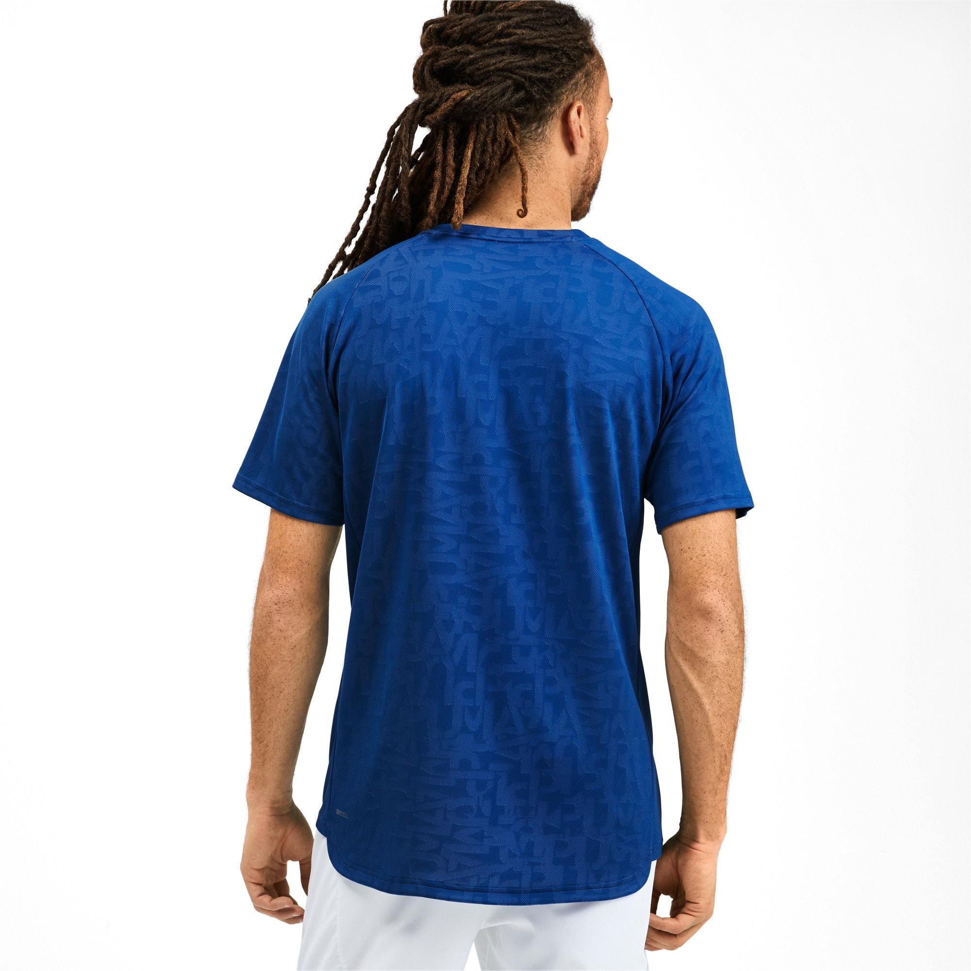 Thumbnail 2 van Power Vent T-shirt voor mannen, Galaxy-blauw, medium