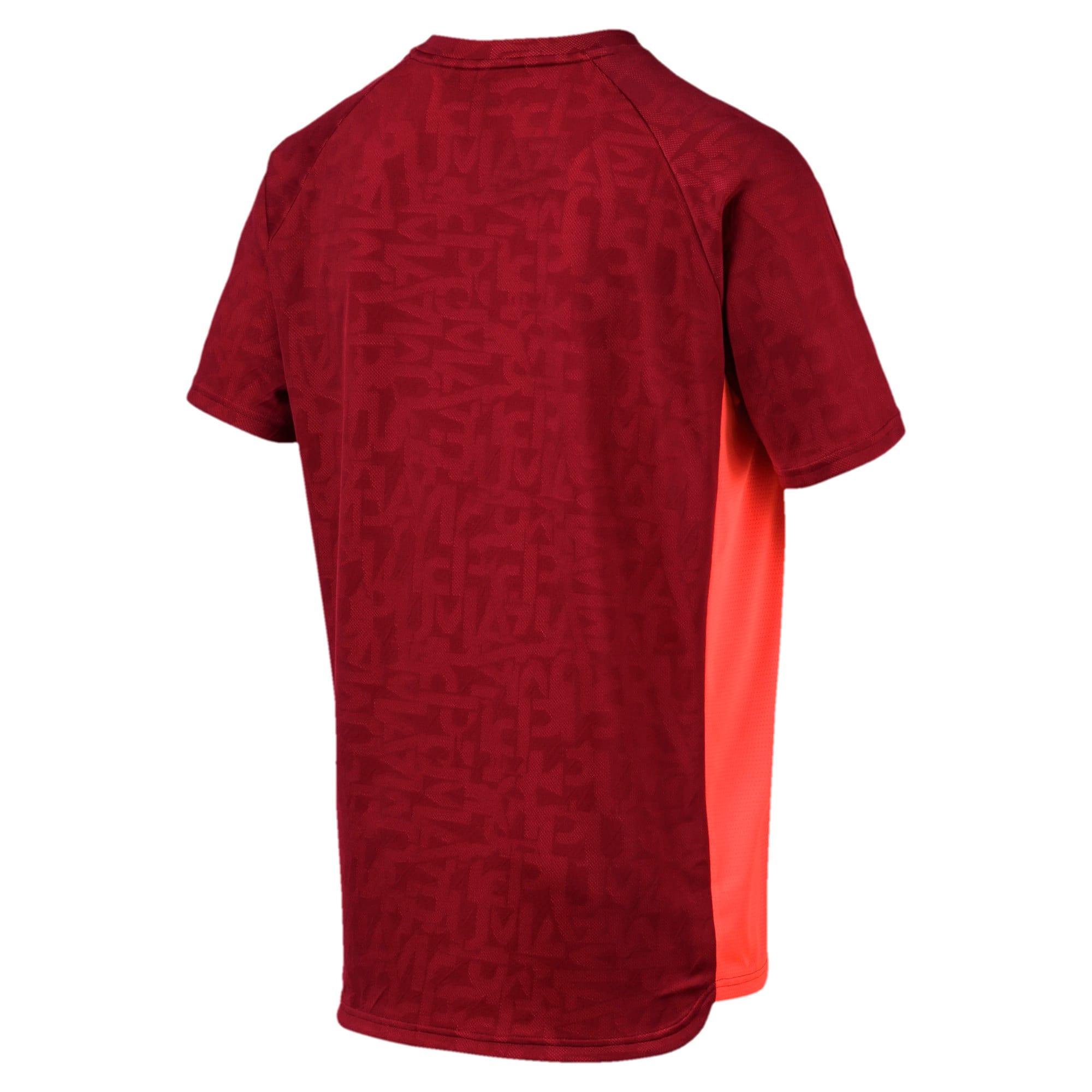Miniatura 5 de Camiseta Power Vent para hombre, Rhubarb, mediano