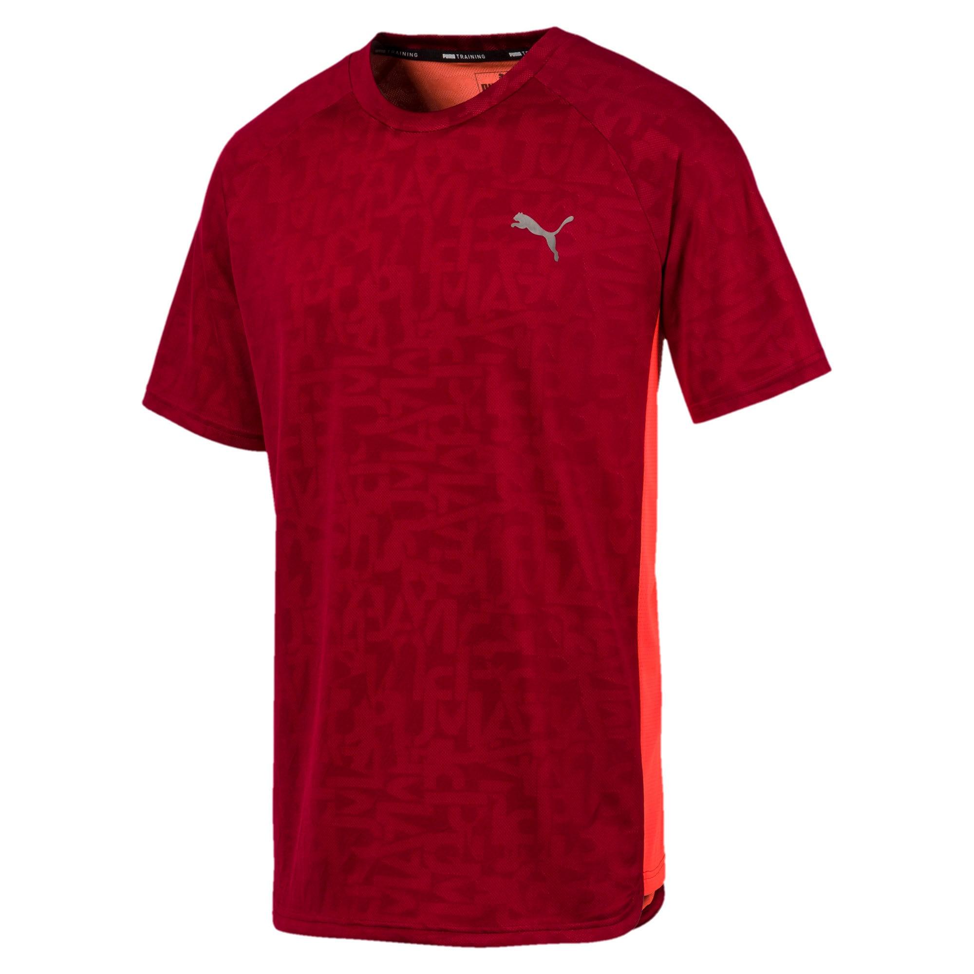 Miniatura 4 de Camiseta Power Vent para hombre, Rhubarb, mediano