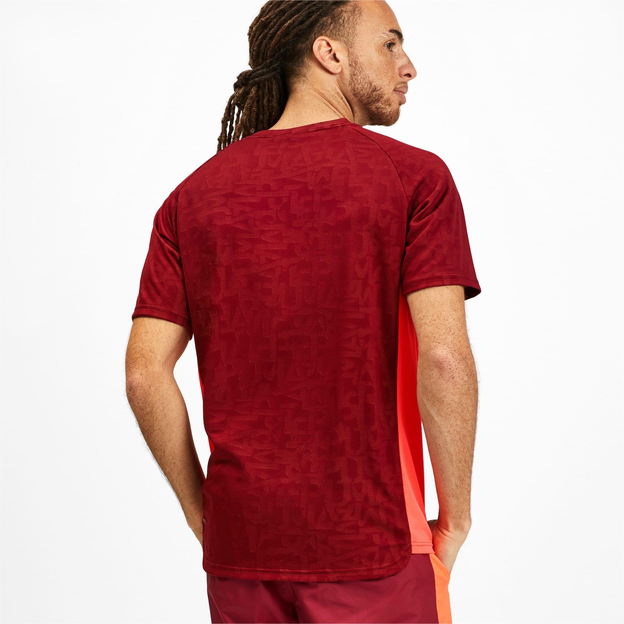 Miniatura 2 de Camiseta Power Vent para hombre, Rhubarb, mediano