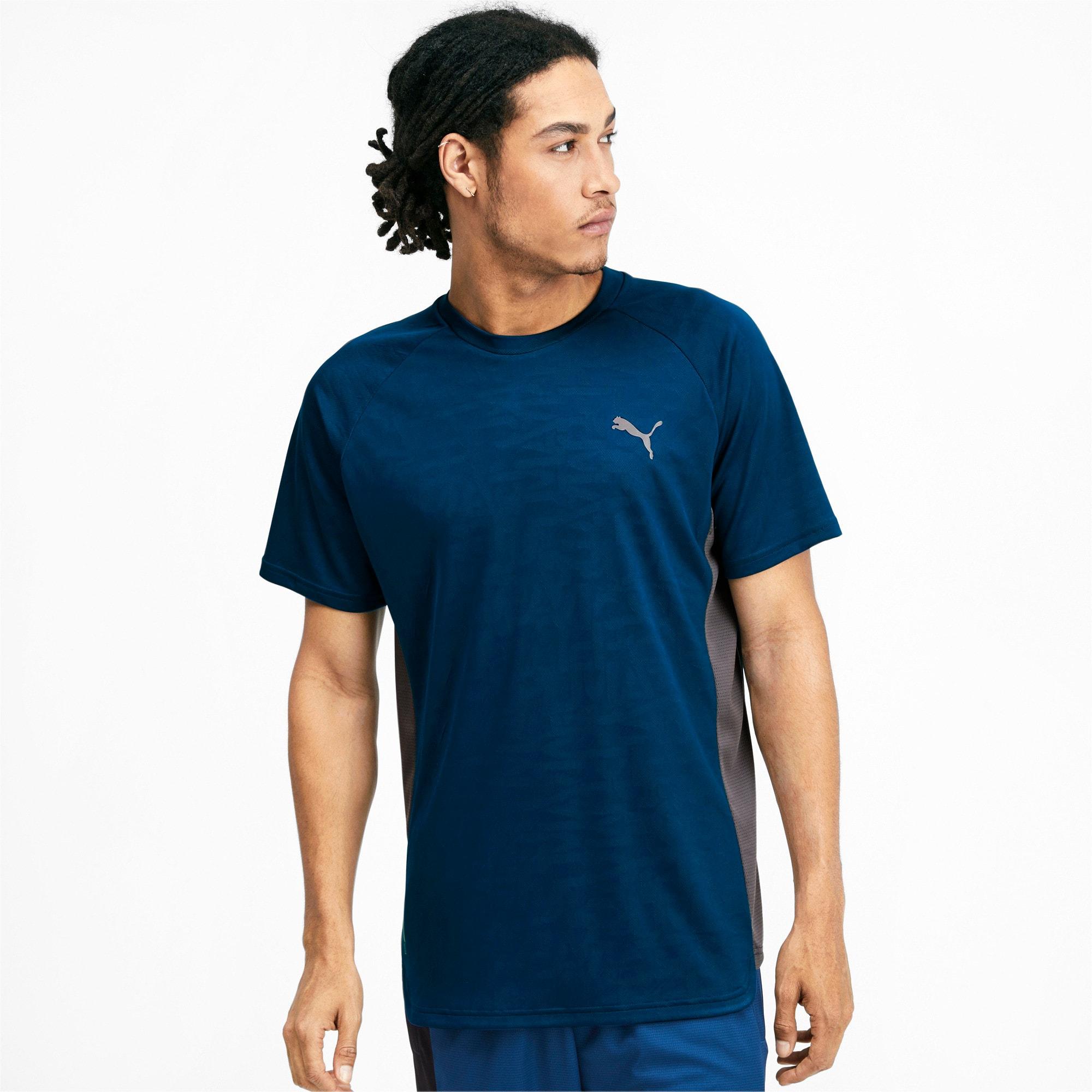 Miniaturka 1 Męska koszulka Power Vent, Kolor Gibraltar, średnie